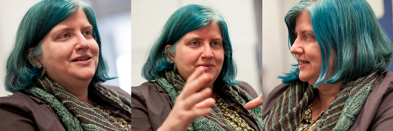 Data scientist and author Cathy O'Neil