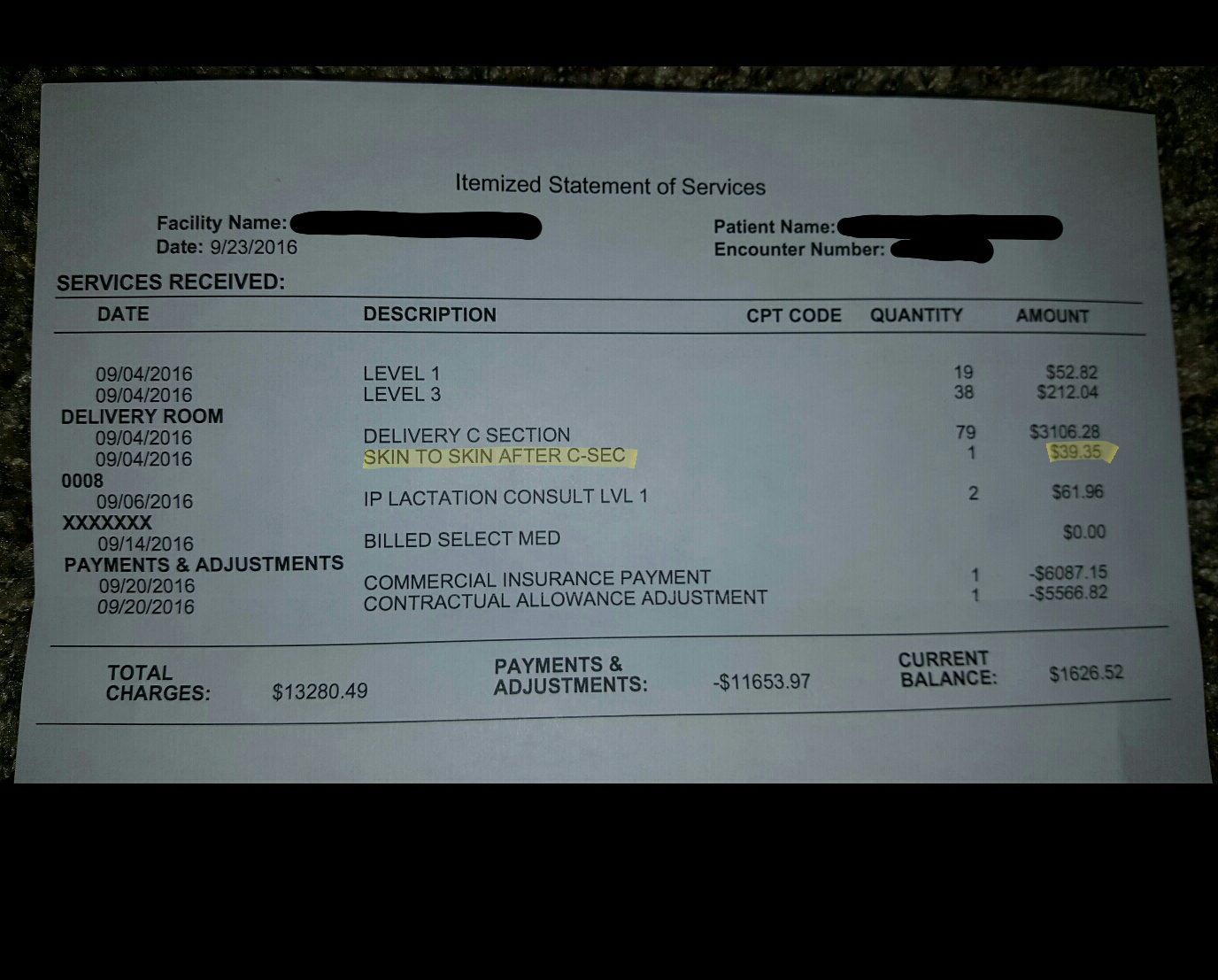 Arbitrary hospital fees exposed: $40 to hold a newborn and