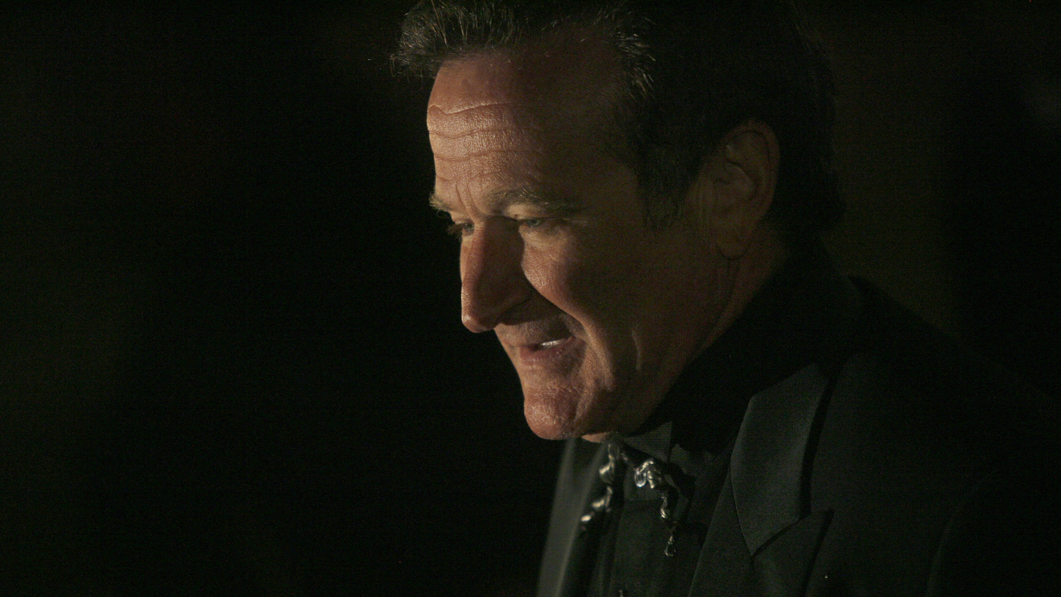 Robin Williams pictured in 2007.