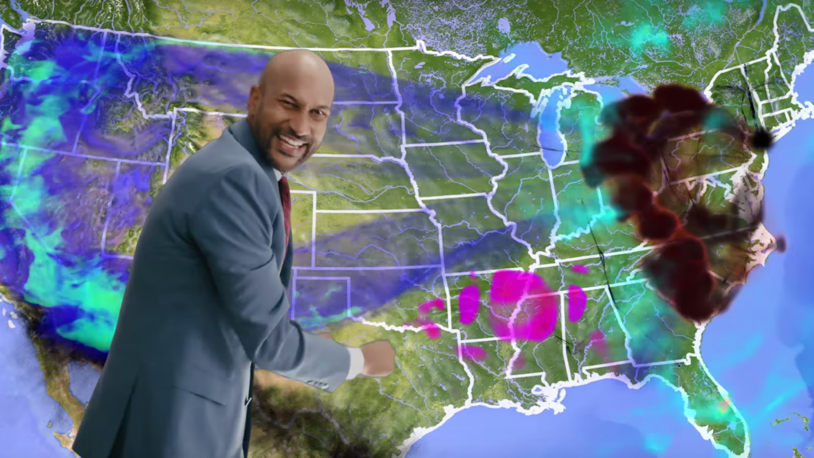 Video Comedian Keegan Michael Key S Apocalyptic Weather Images, Photos, Reviews
