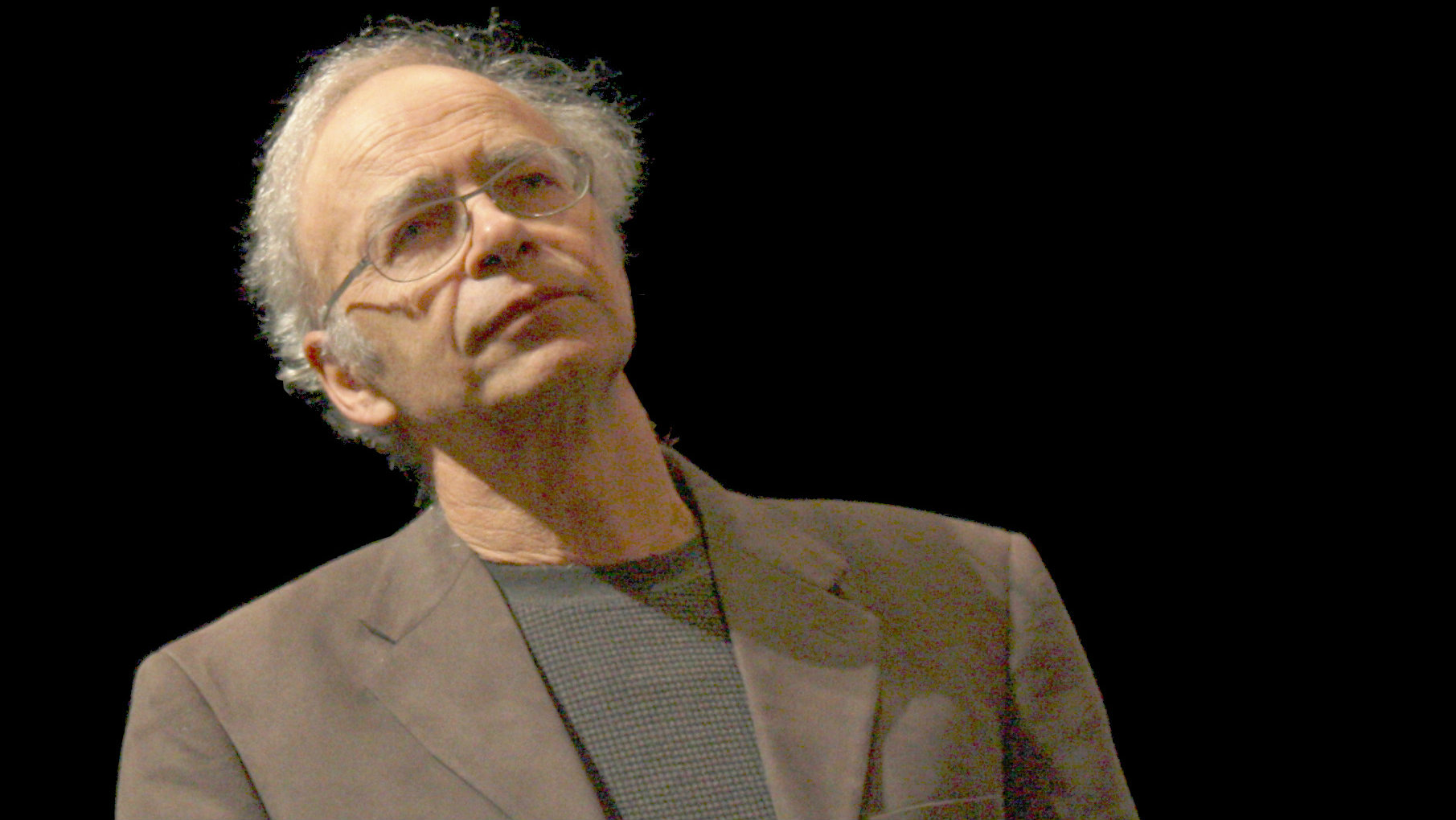 Peter Singer has an optimistic outlook.