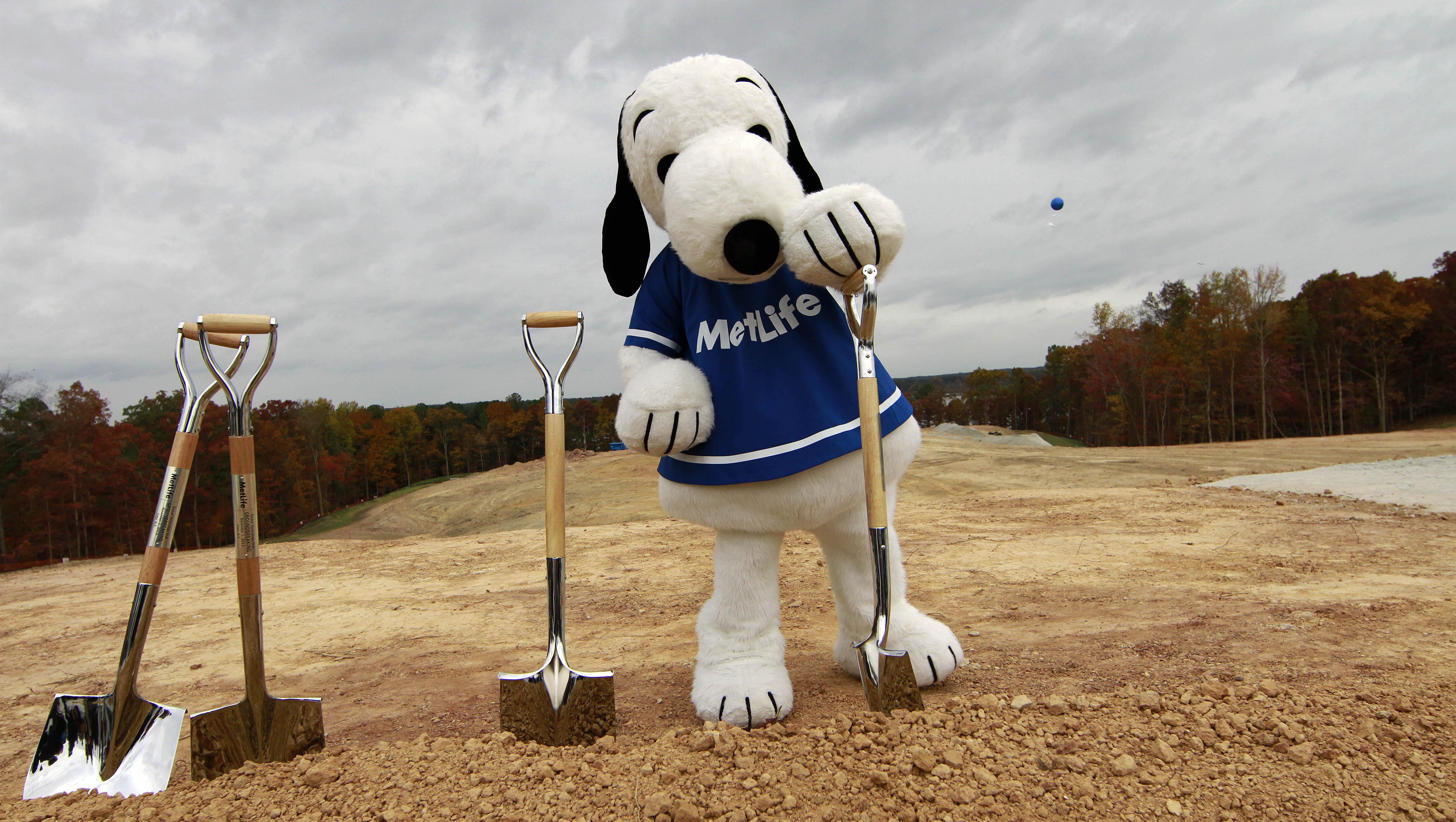 MetLife is firing Snoopy