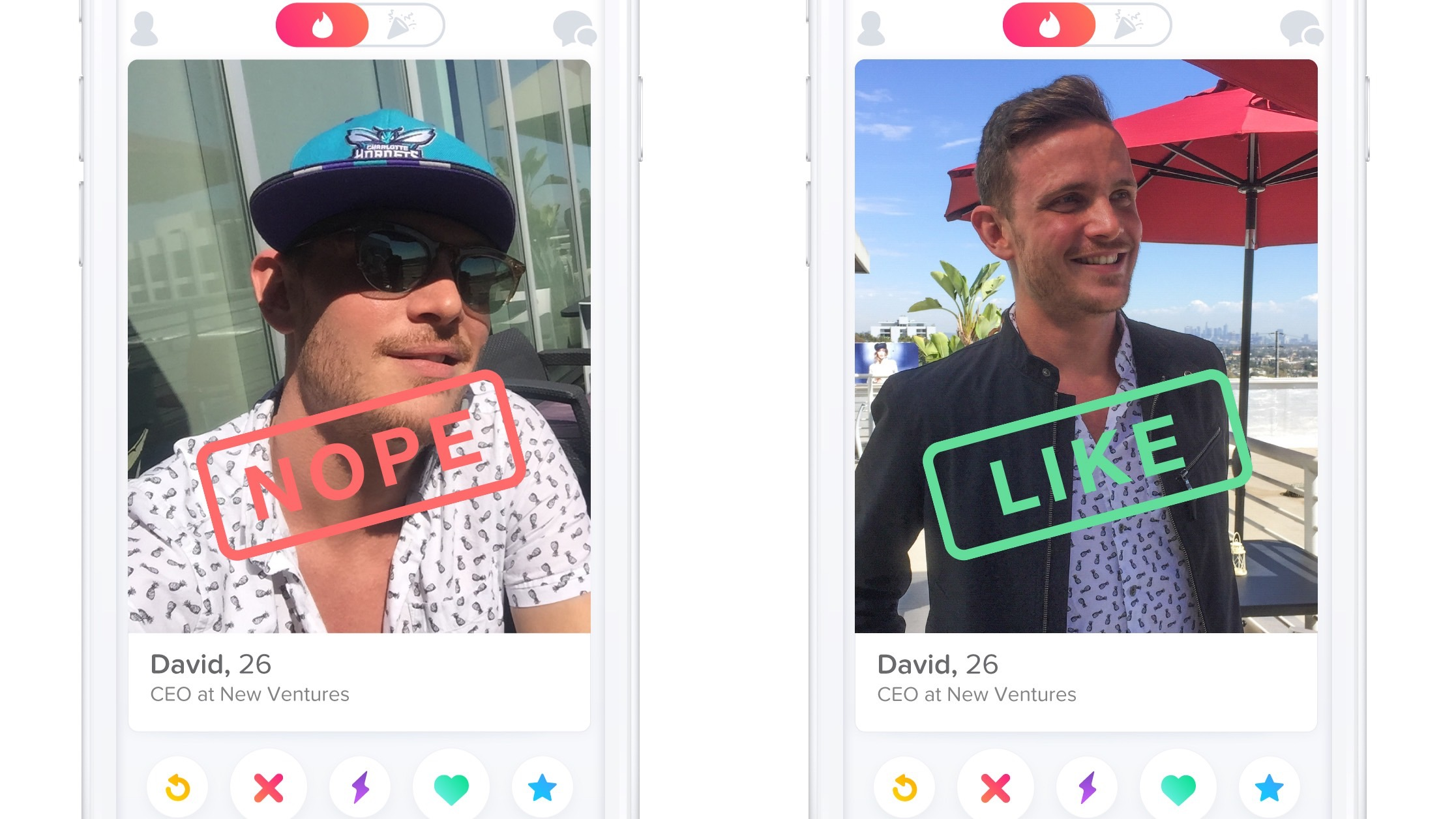 How do you know if someone swiped right on tinder
