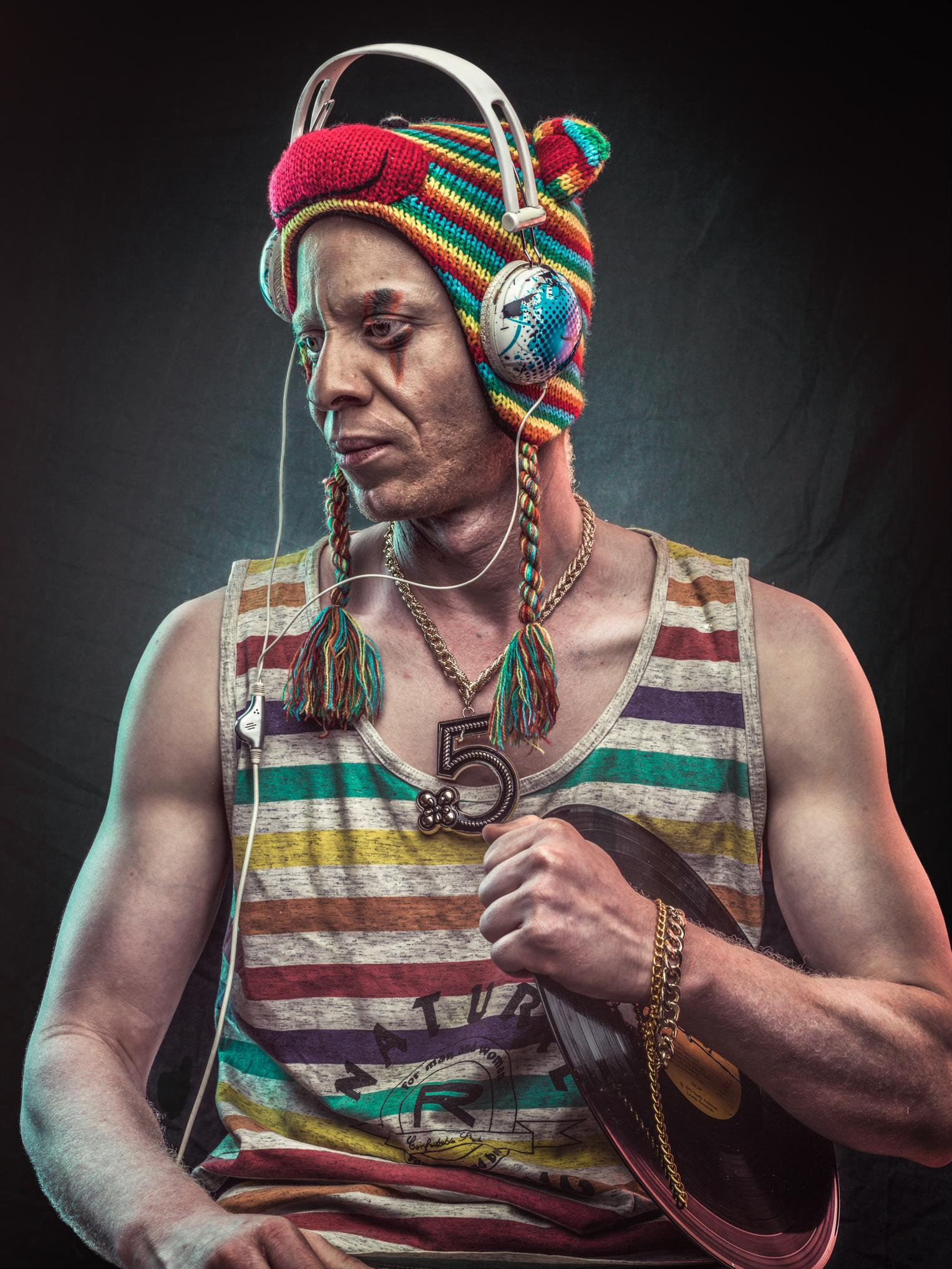 From the 'Melanin Zero' project, which captures the dream and aspiration of people living with albinism.