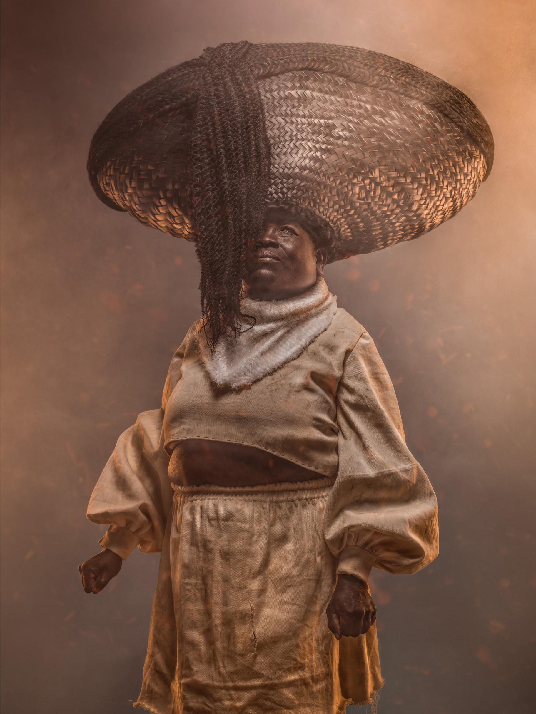 Achi from the series 'Kipipri 4,' which depicts four women who formed an alliance to undermine British colonial power in Kenya.
