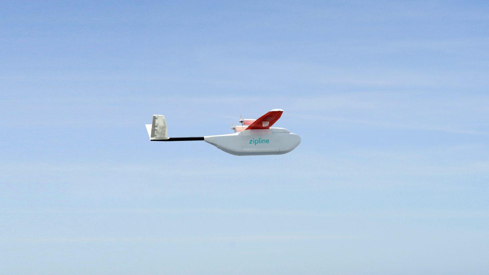 Zipline drone Rwanda