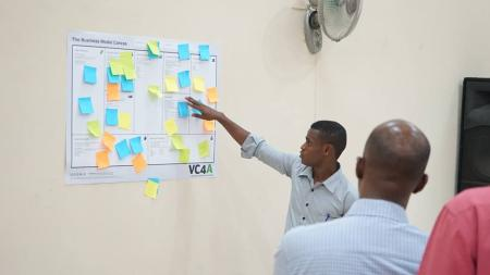 Demonstrating a business idea