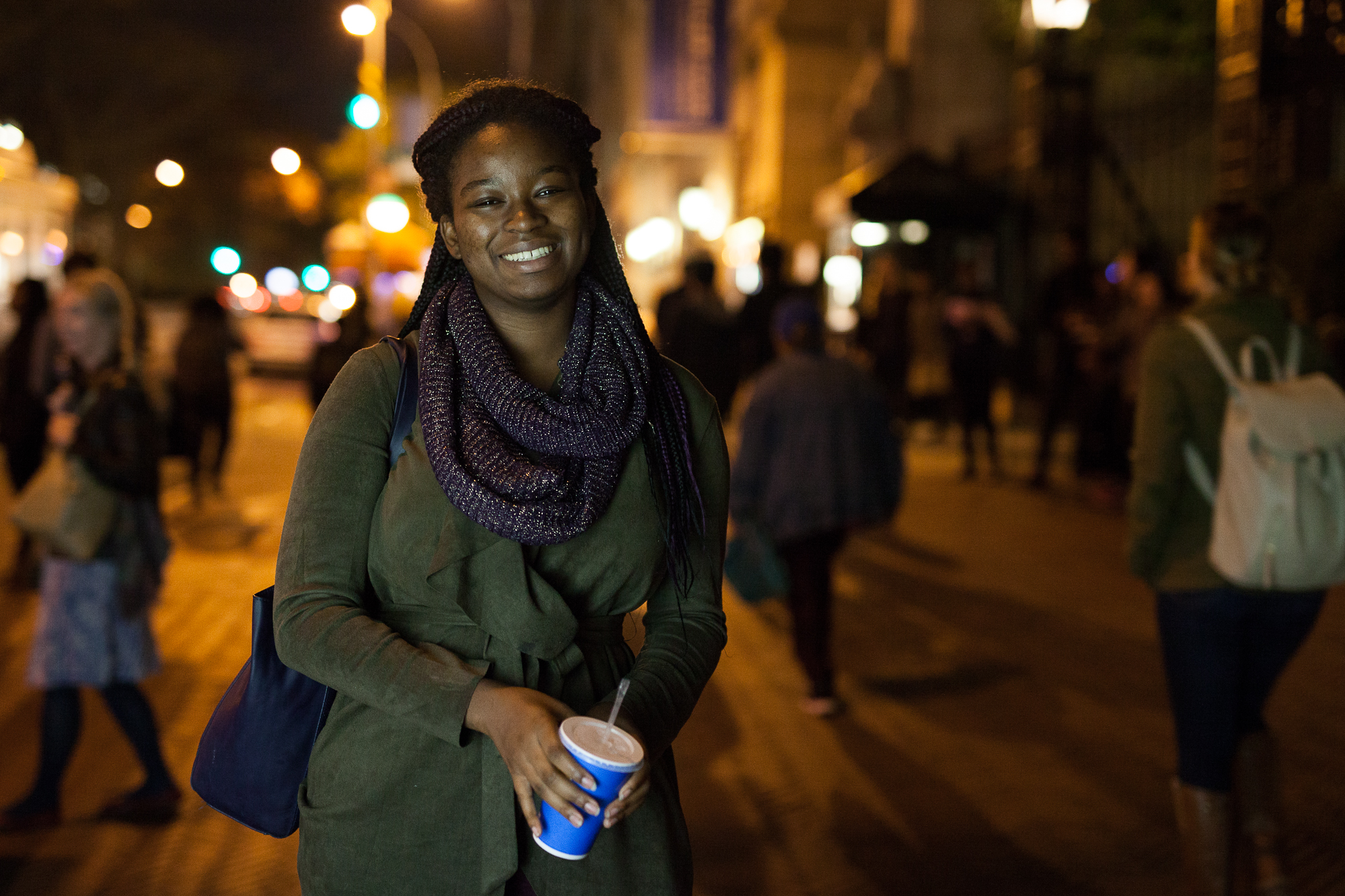 Maymouna Sissoko's parent always reminded her of the privileges of being an American.