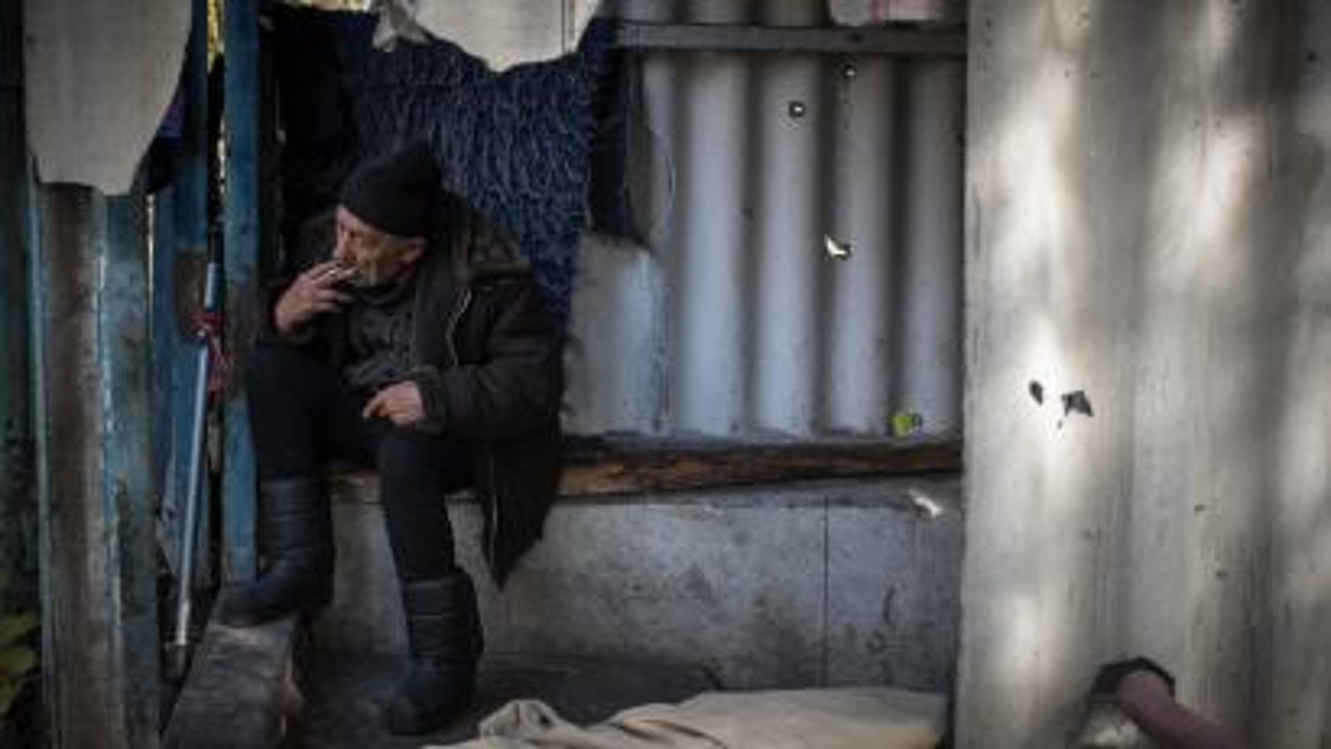 Ukraine Soviet Shelter