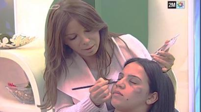 Moroccan television airs a make-up tips teaching women how to conceal domestic violence injuries