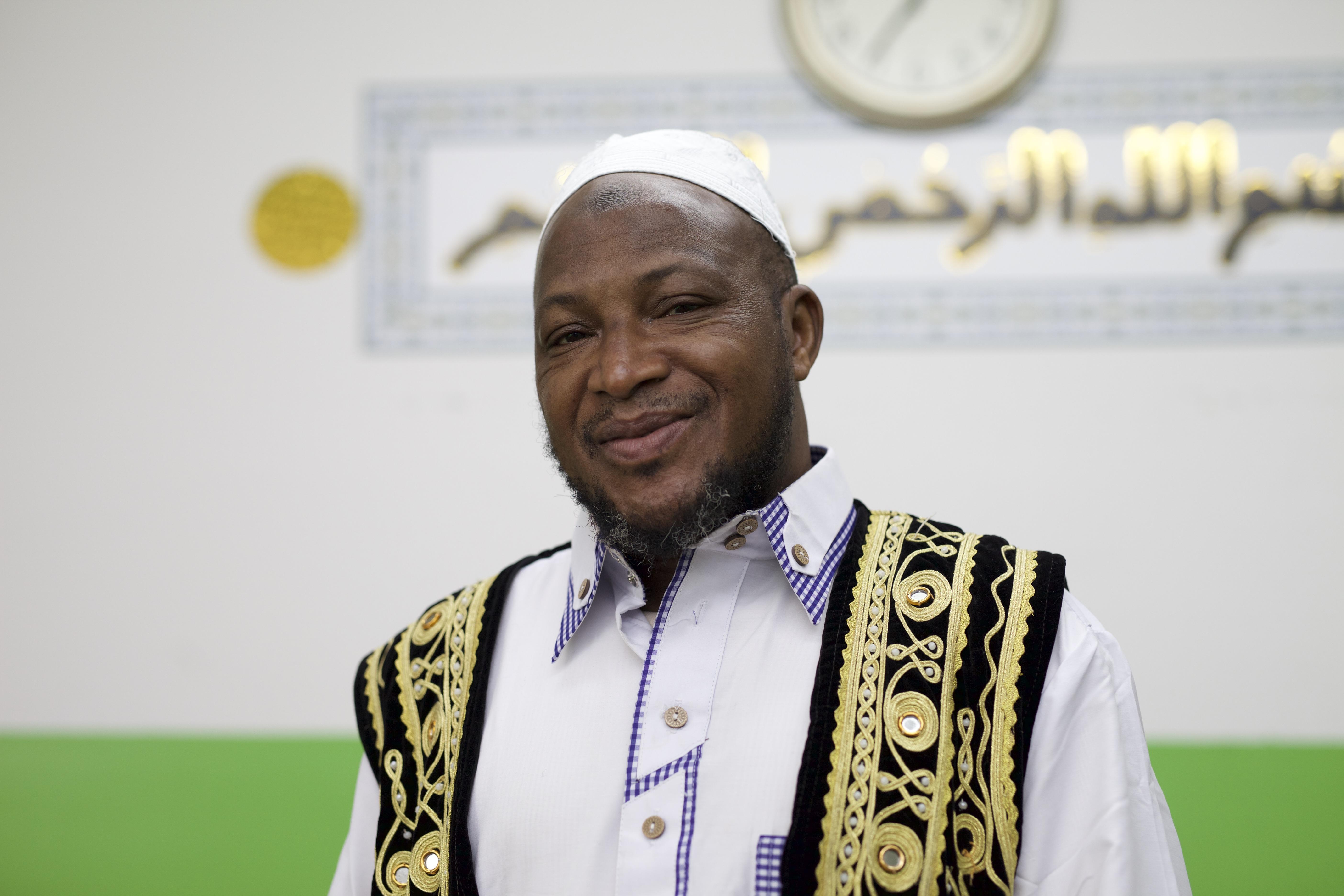 """""""The election is about values,"""" says imam Souleimane Konaté."""