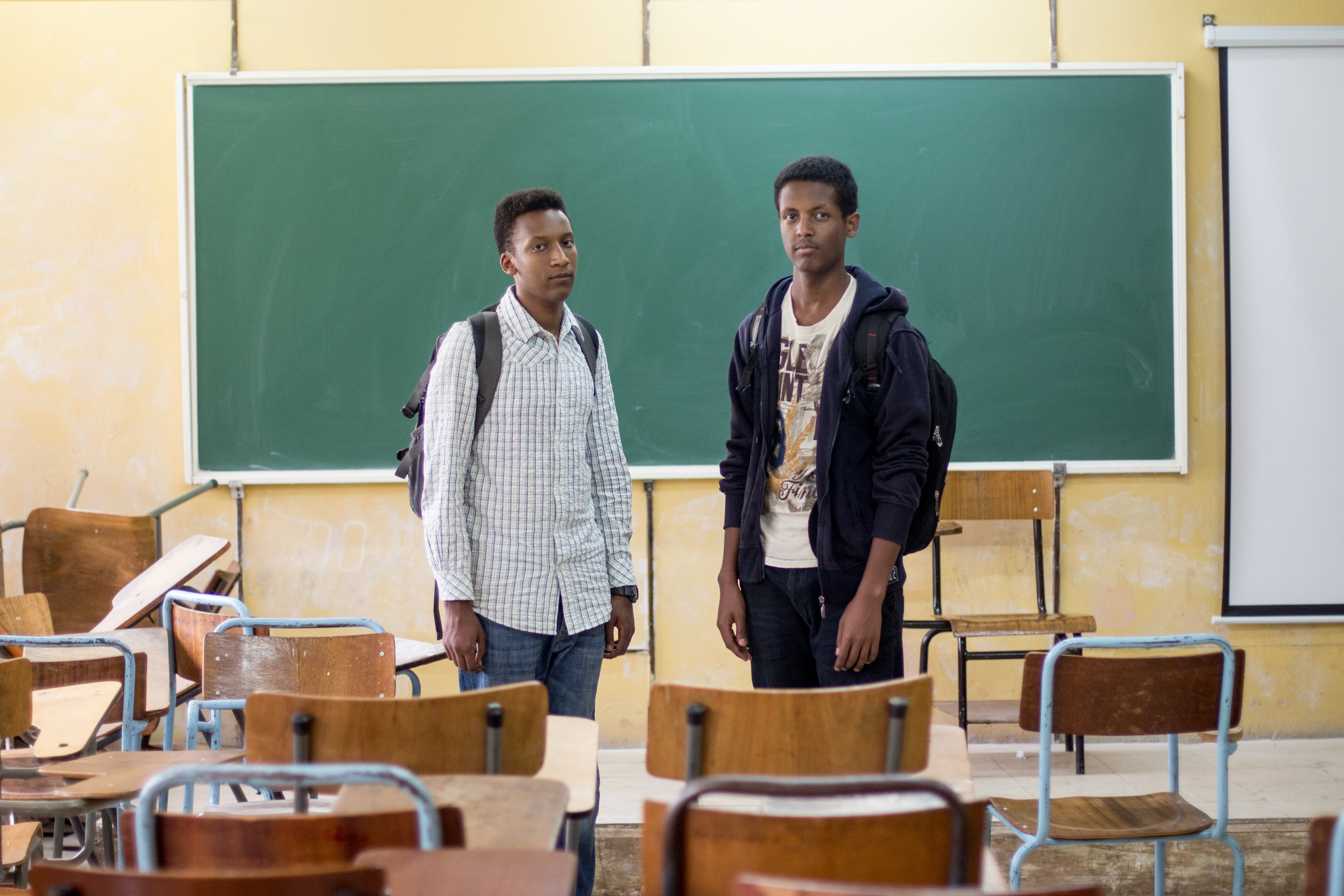 Nathnael Dejene and Yohannes Fassil complained about absent professors.