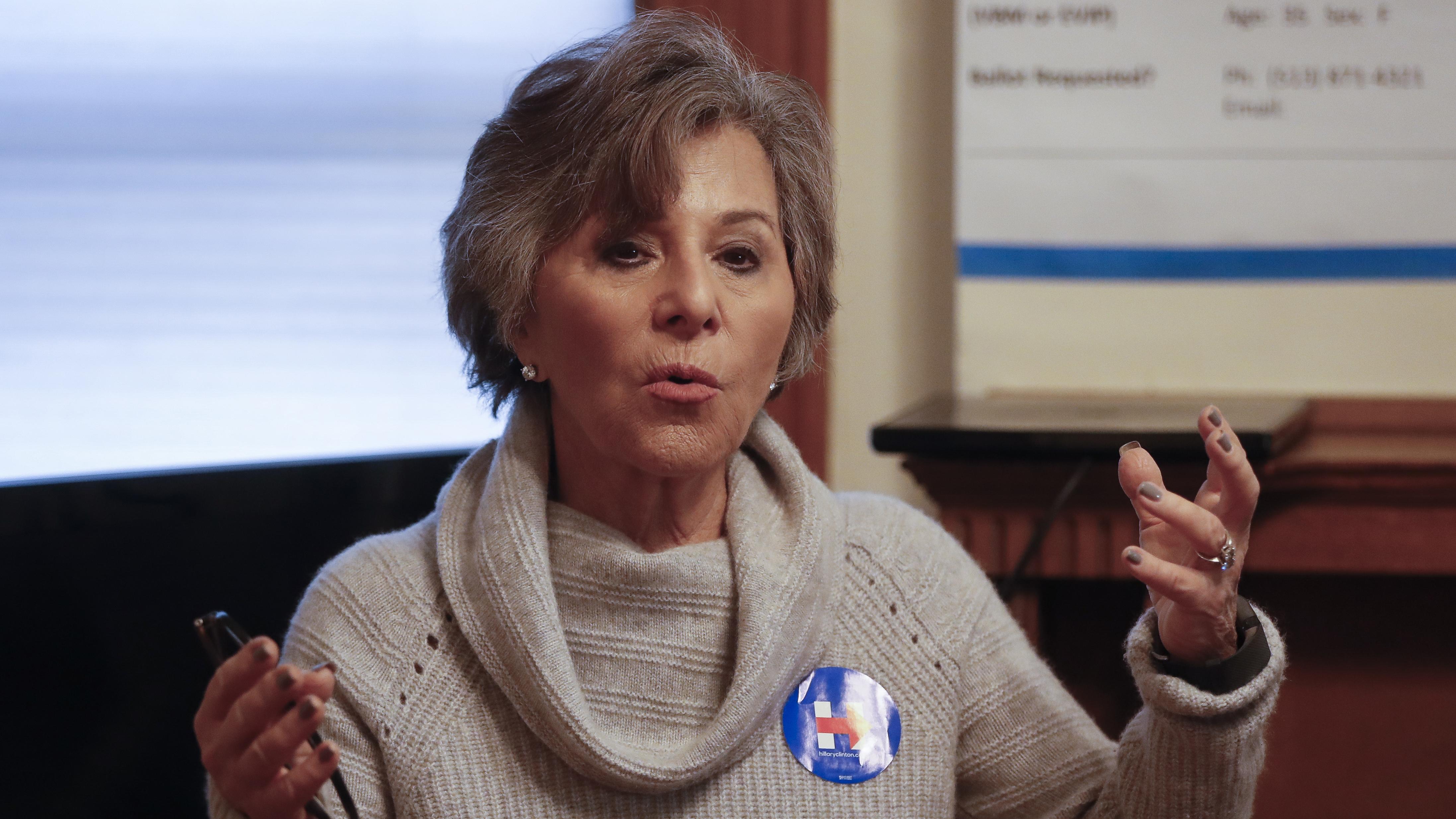 California senator Barbara Boxer