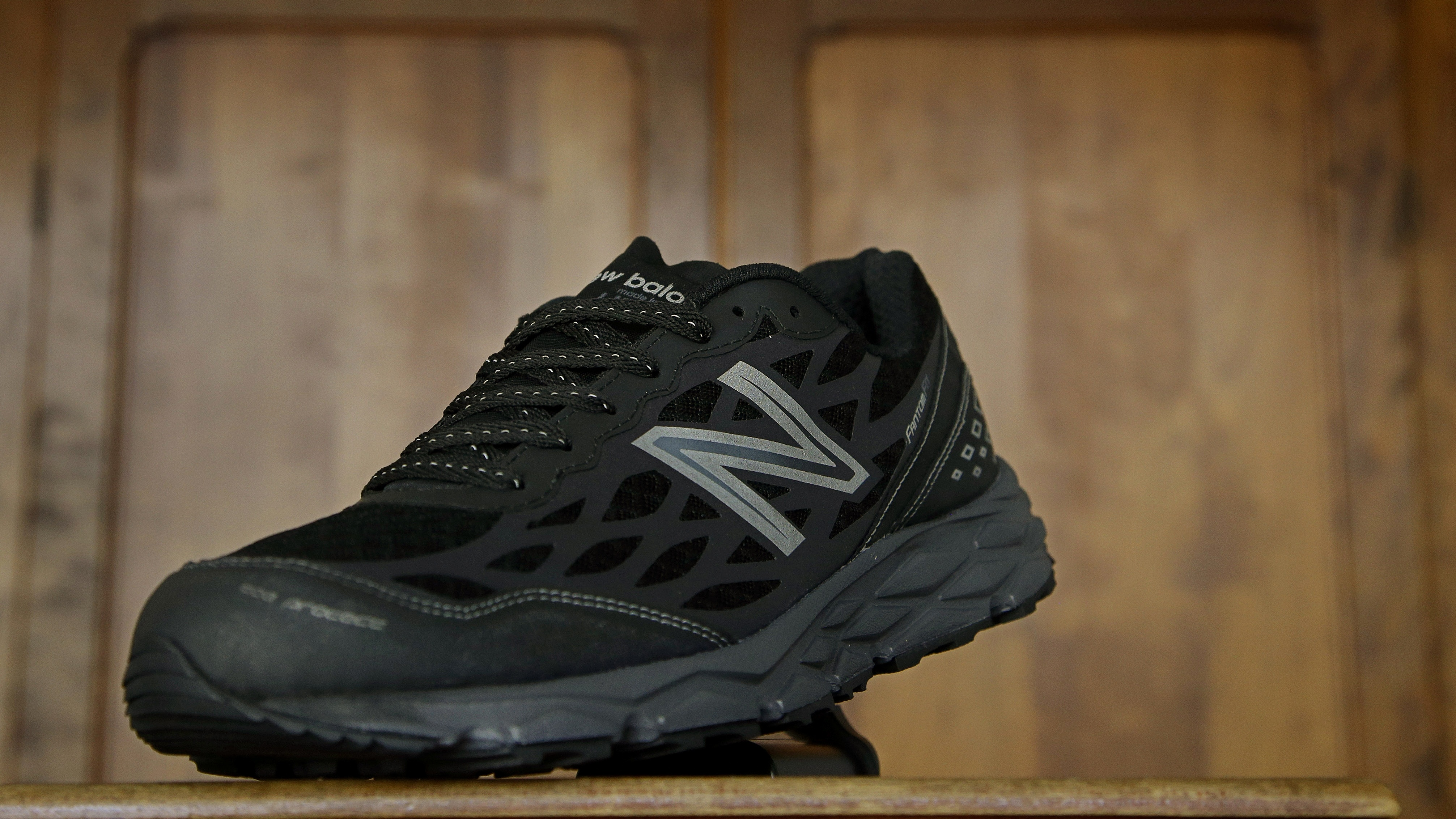 In this photo taken Wednesday, July 1, 2015, the New Balance proposed 950v2