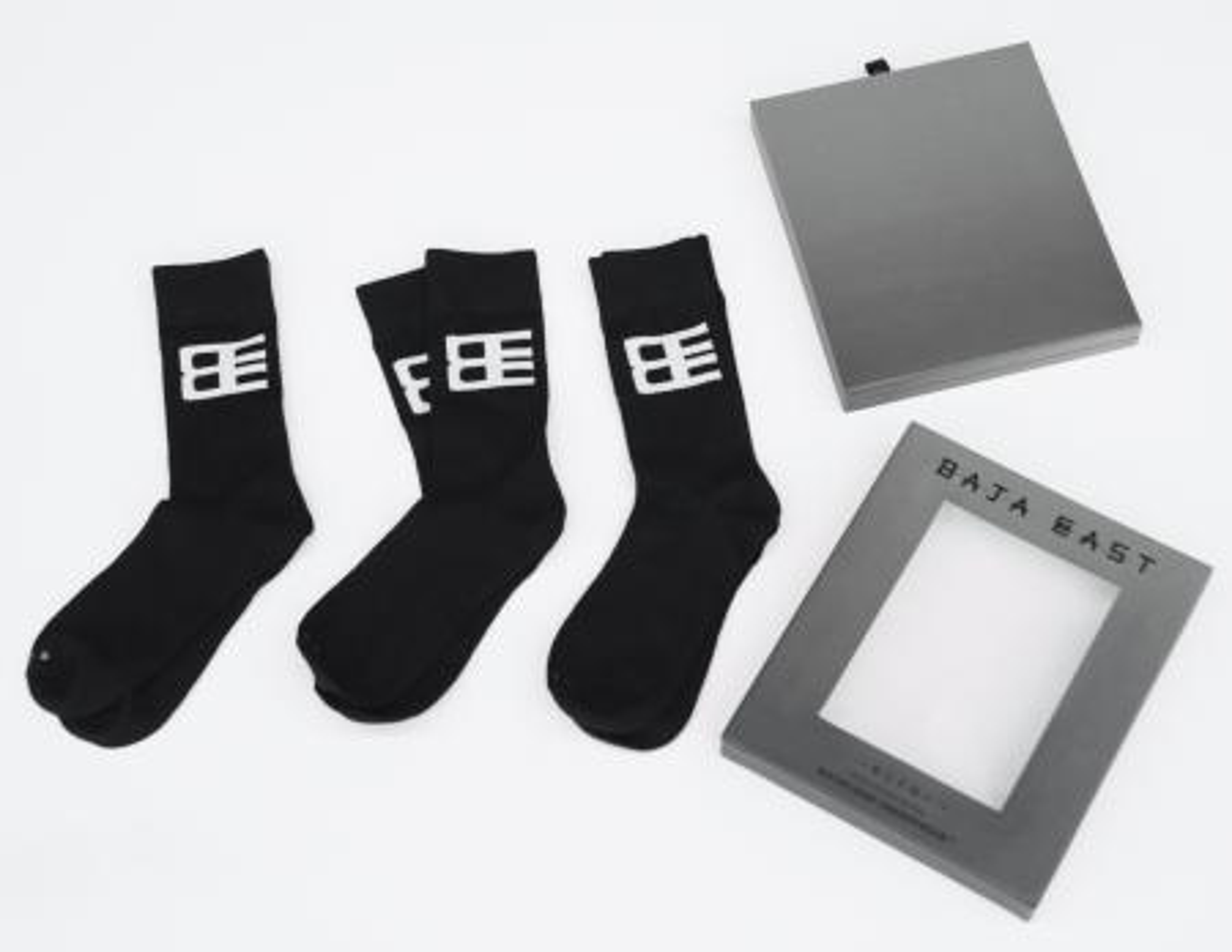 Baja East x Related unisex wool socks