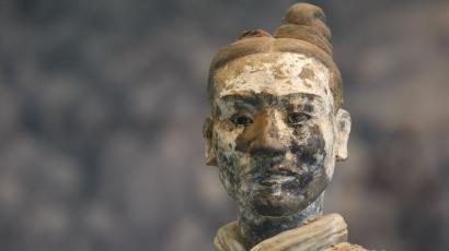 Chinese terracotta man warrior army