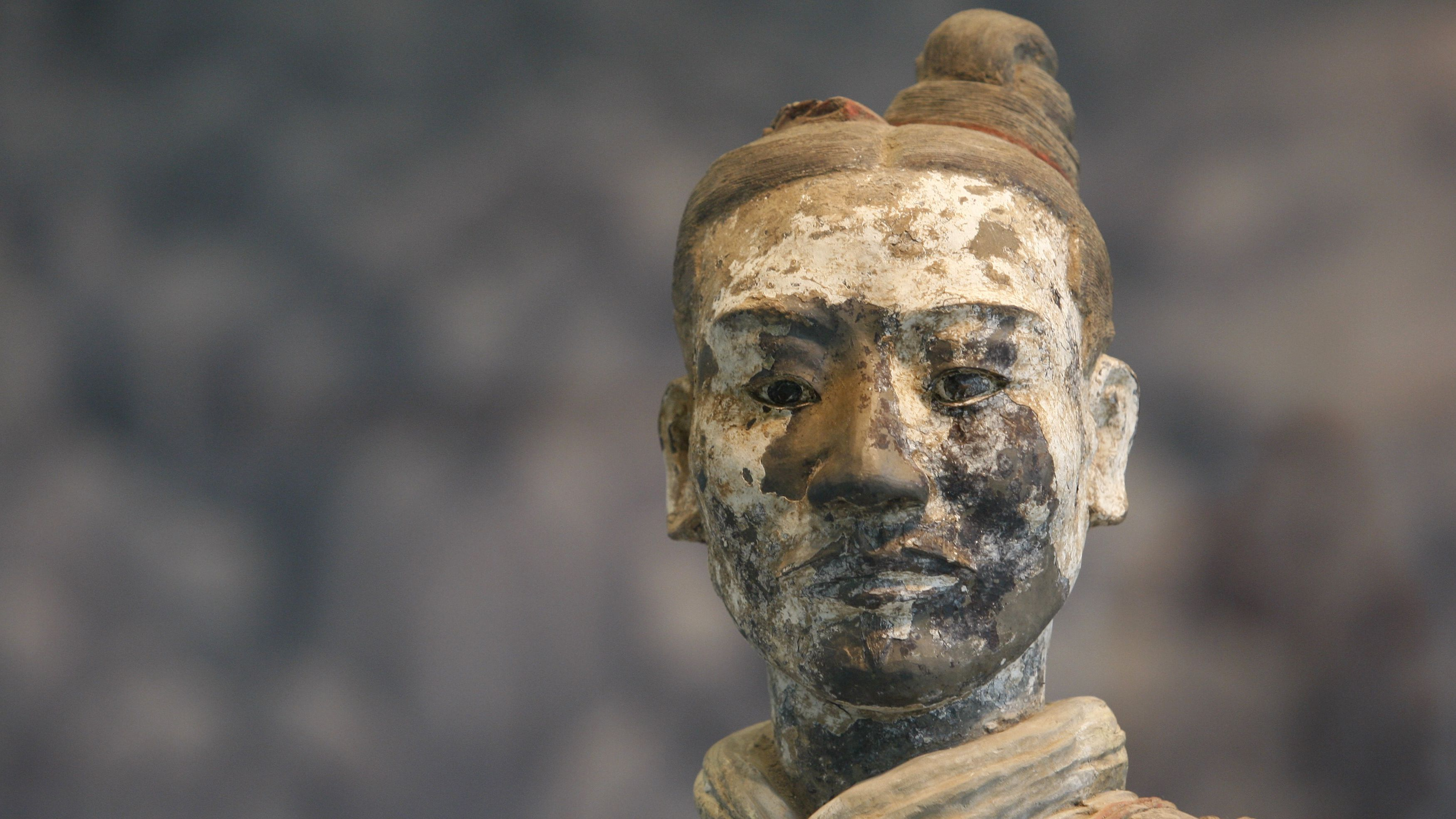 Chinese terracotta man