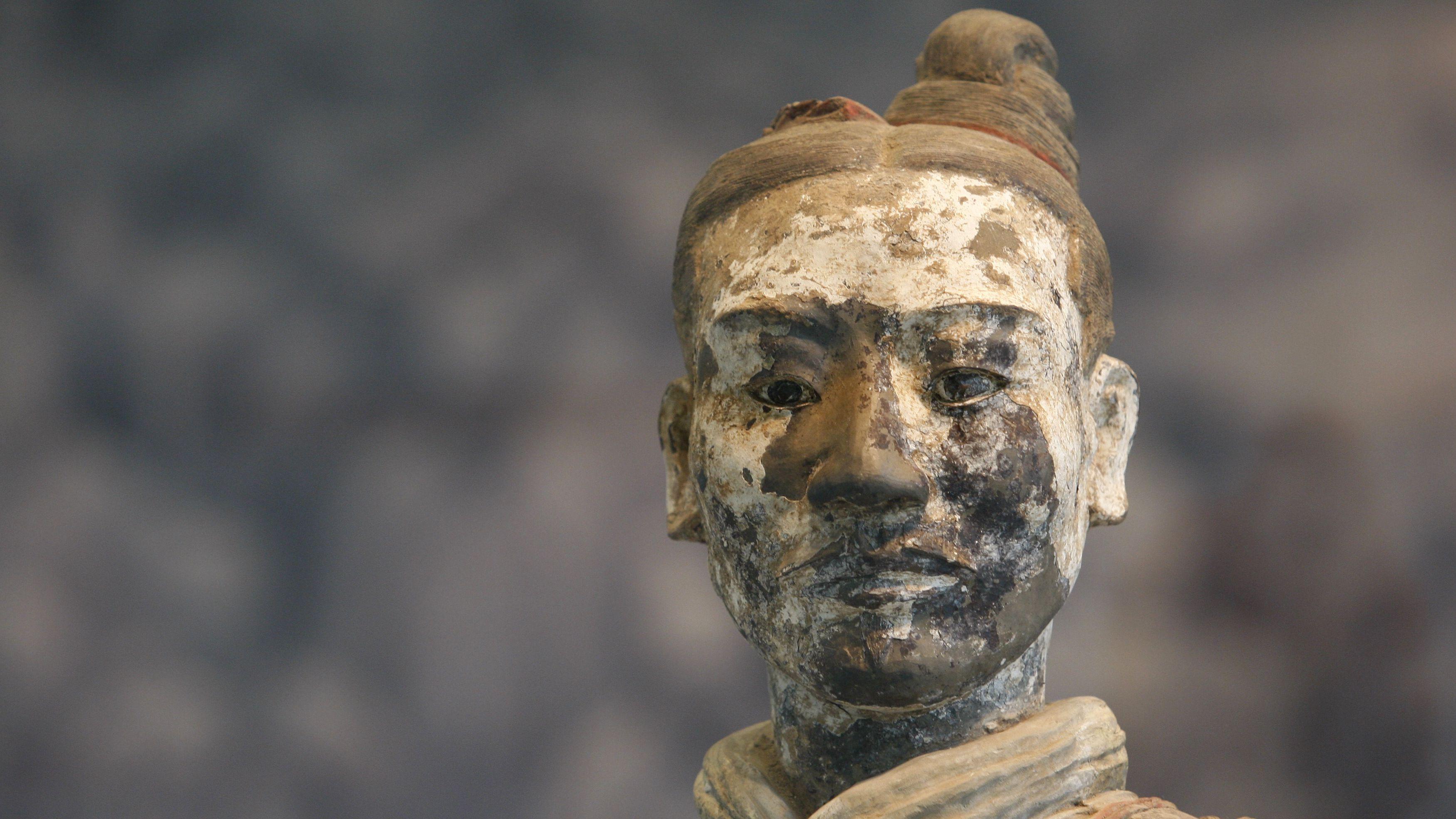 Chinese terracotta man
