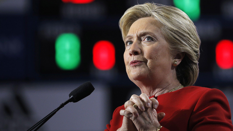 Clinton concession speech, election 2016