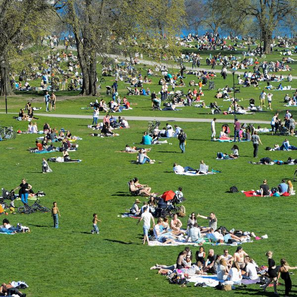 Central Park People: Inequality Is Growing Fast In Sweden, One Of The Most