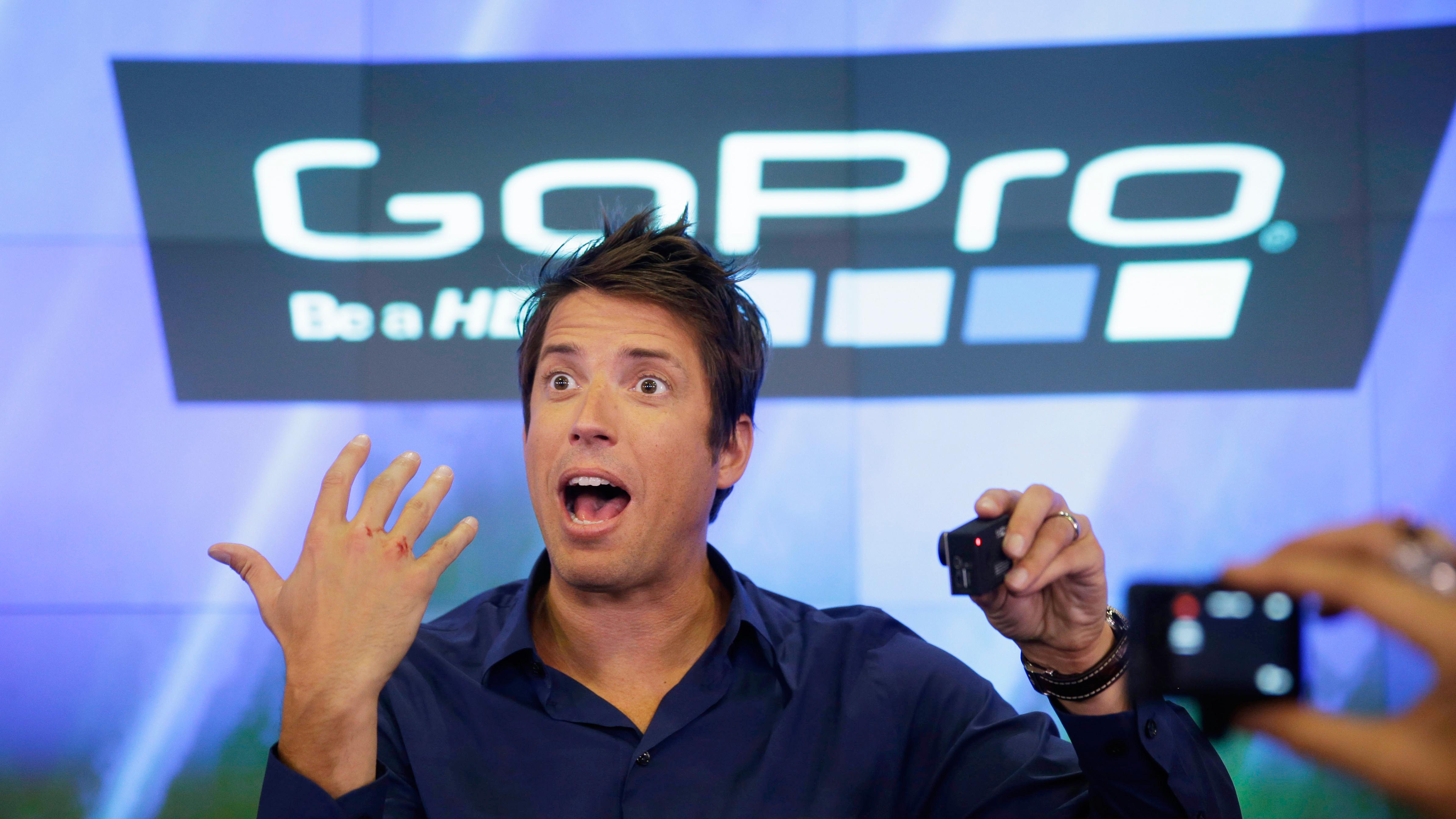 GoPro CEO Nick Woodman.