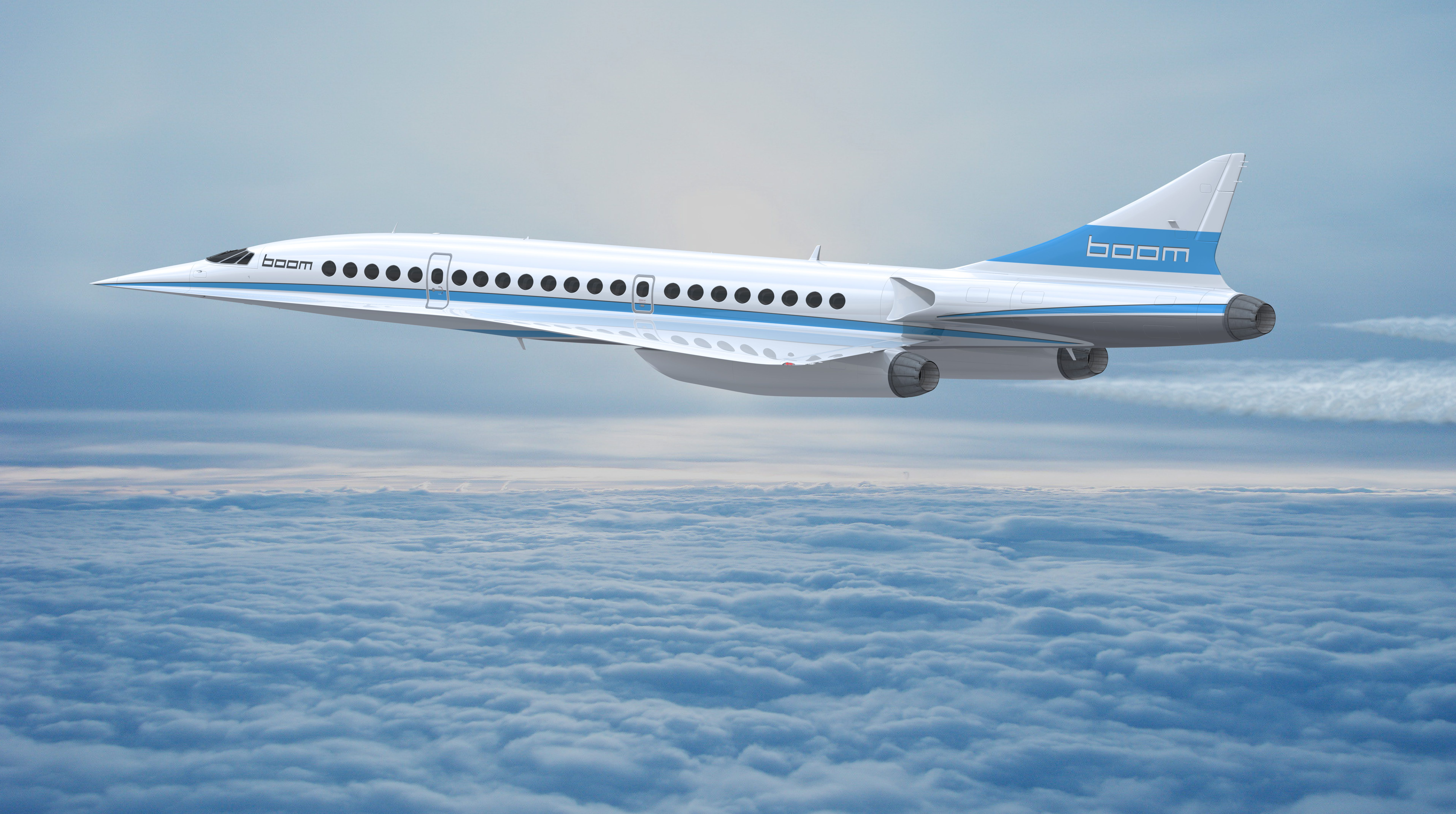 On Nov.15, the Denver-based technology company revealed its prototype of a supersonic passenger jet that takes people from New York to London in 3 hours and 15 minutes.