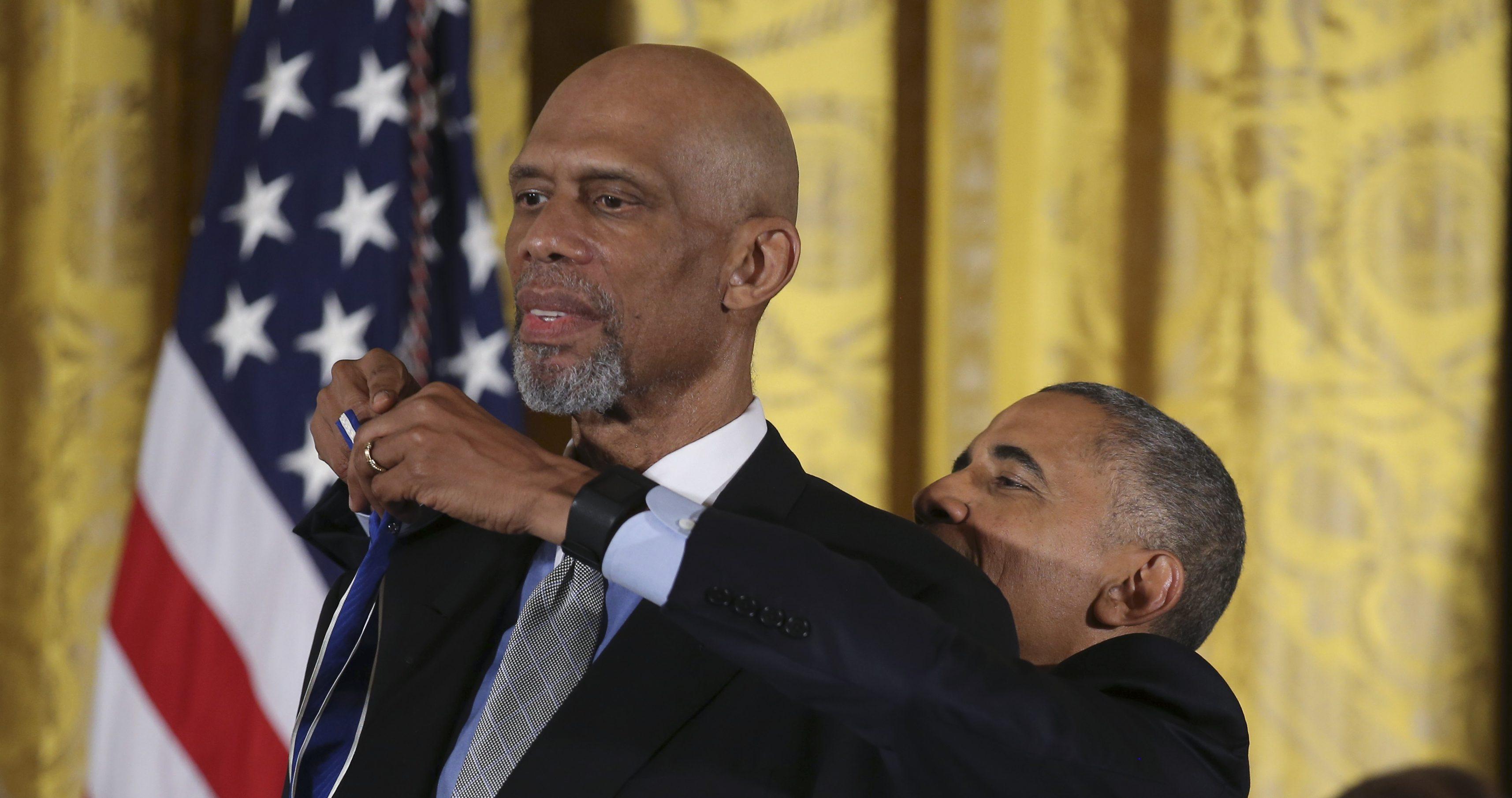 Obama Kareem Abdul-Jabbar