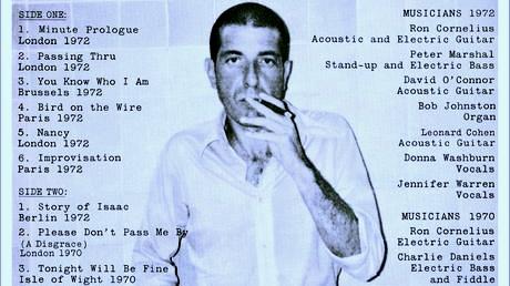Leonard Cohen 1972 album cover
