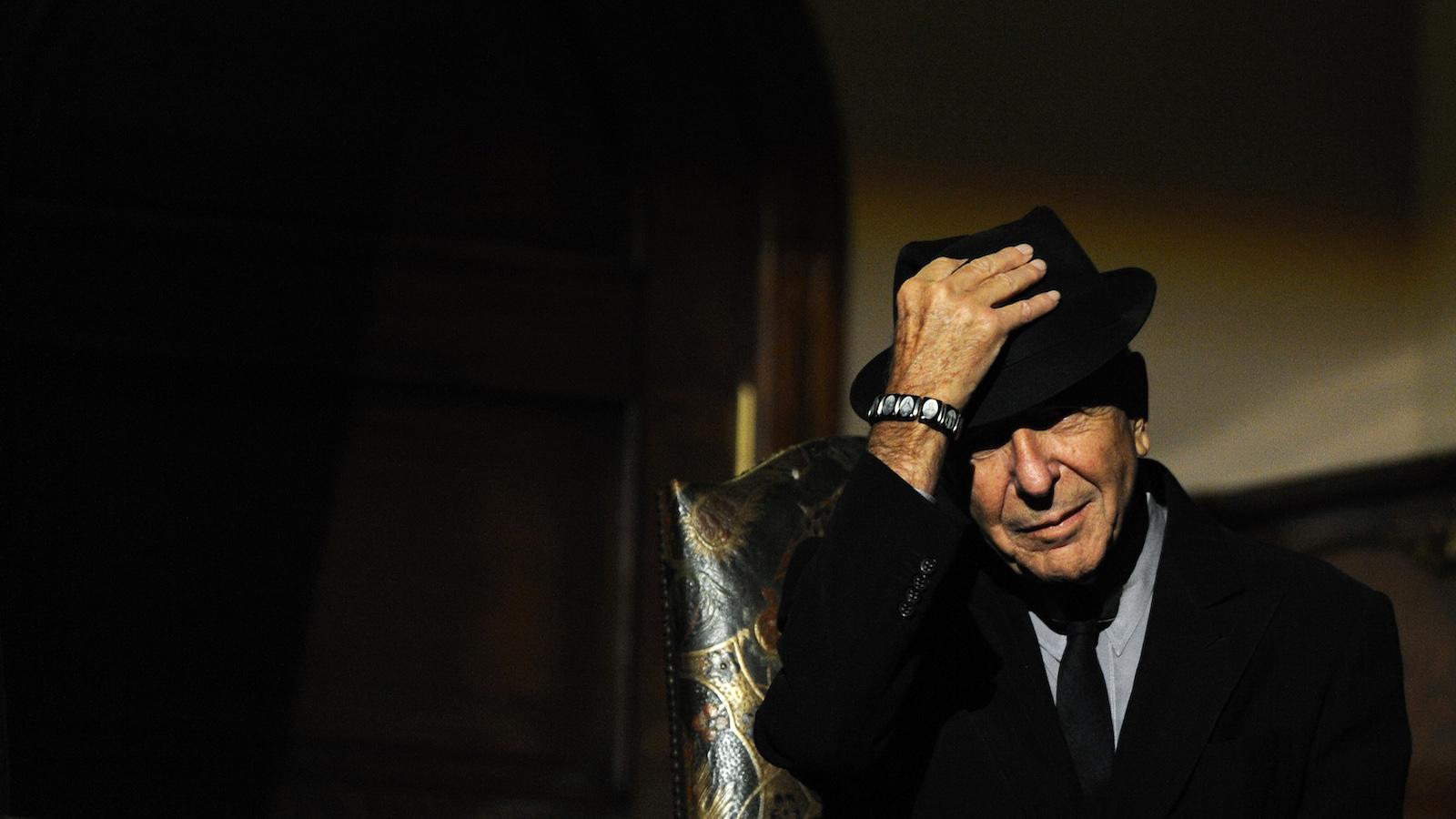 Canadian singer-songwriter Leonard Cohen