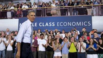 Obama trumpets new overtime rules