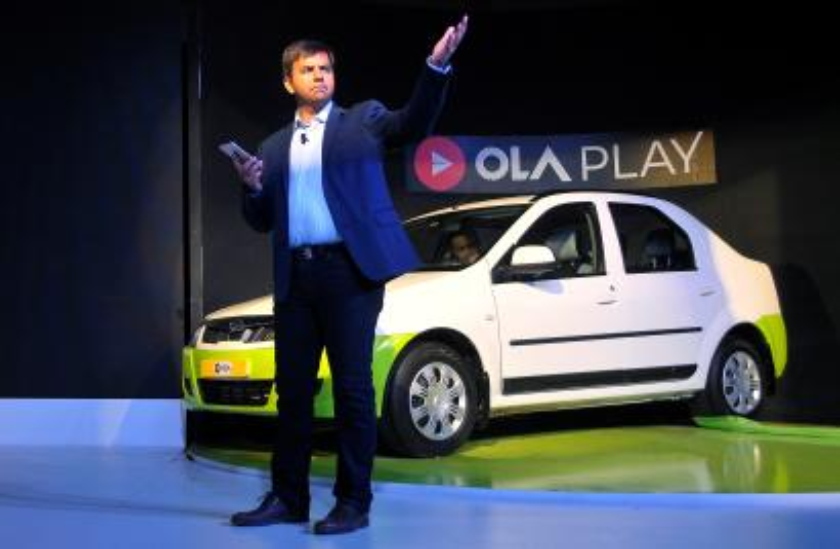Bhavish Aggarwal, CEO and co-founder of Ola
