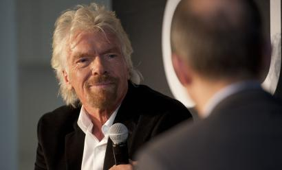Richard Branson at Quartz