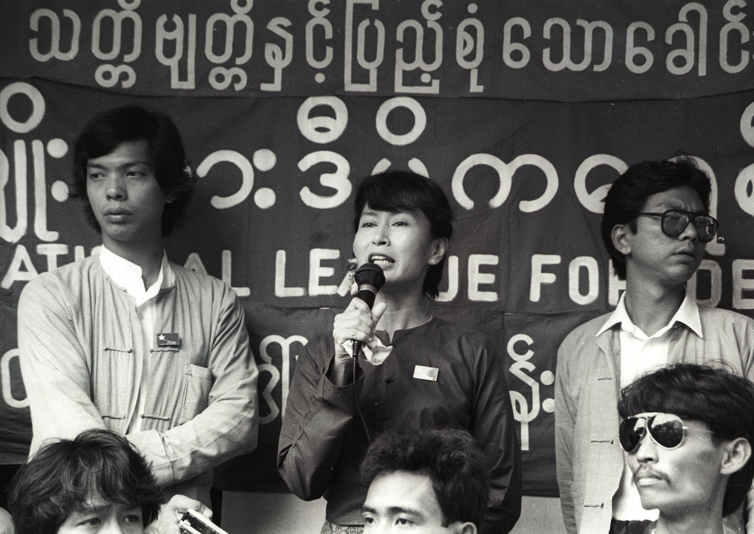 Suu Kyi Rangoon