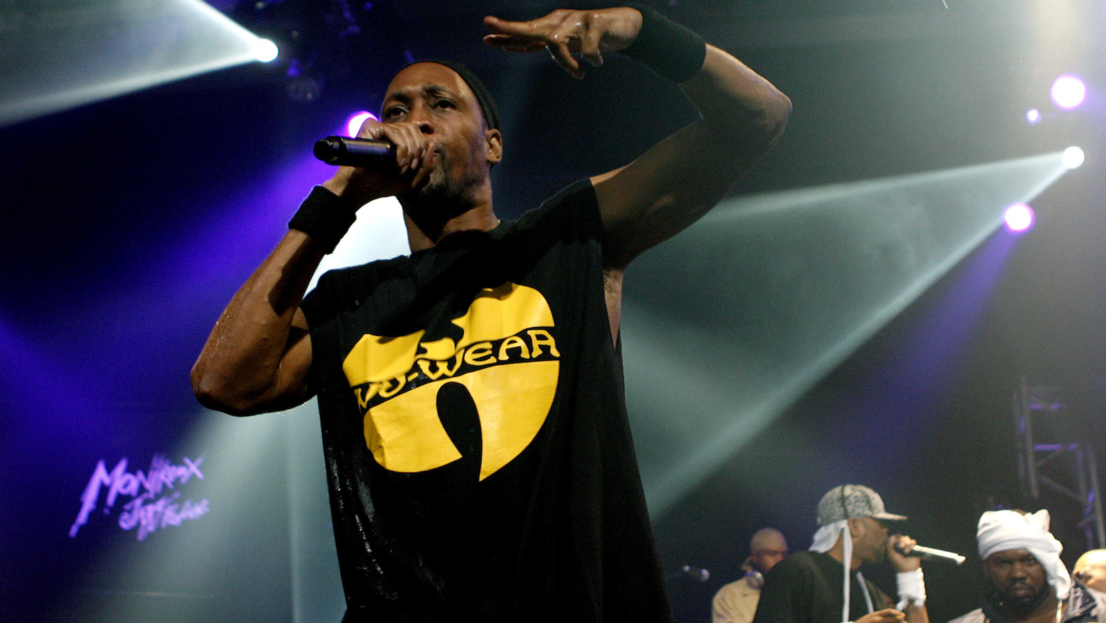RZA of rap band Wu-Tang Clan performs at the Montreux Jazz Festival