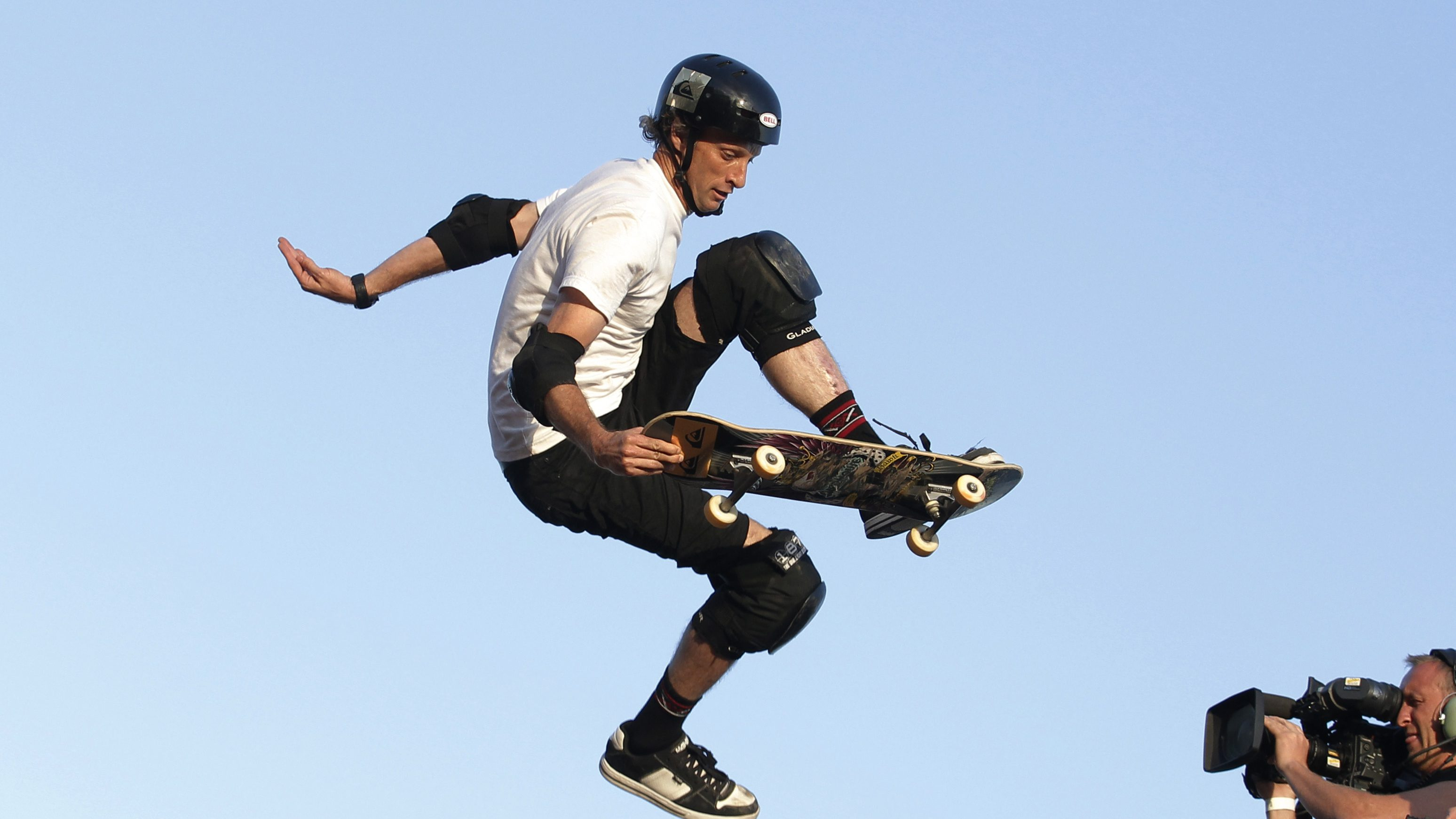 skateboarder tony hawk said he had to destroy his brand to learn its