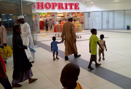 South African retail chain Shoprite (SPH) has built its success by expanding across Africa on its own infrastructure development