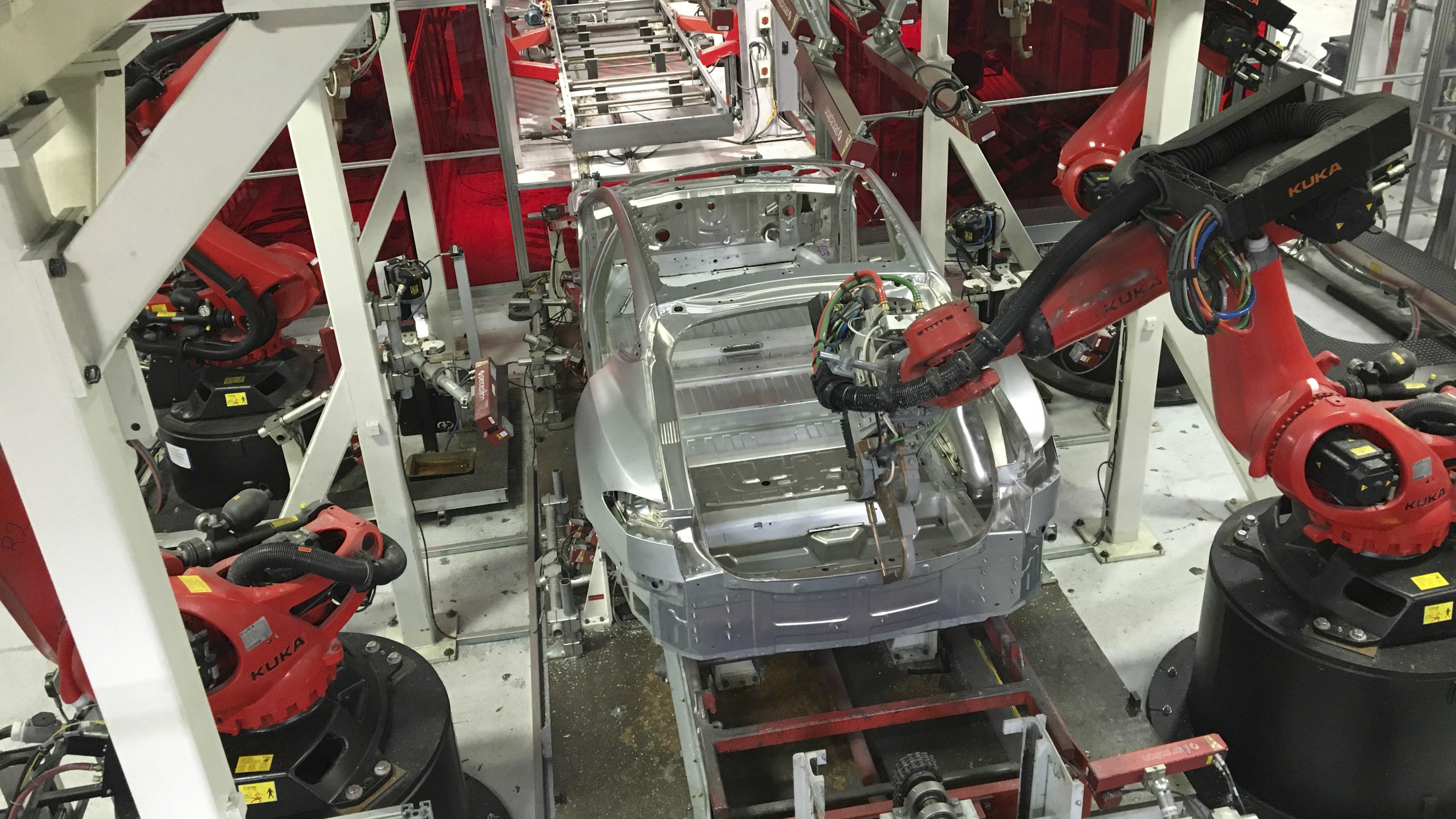 Tesla's Freemont California factory