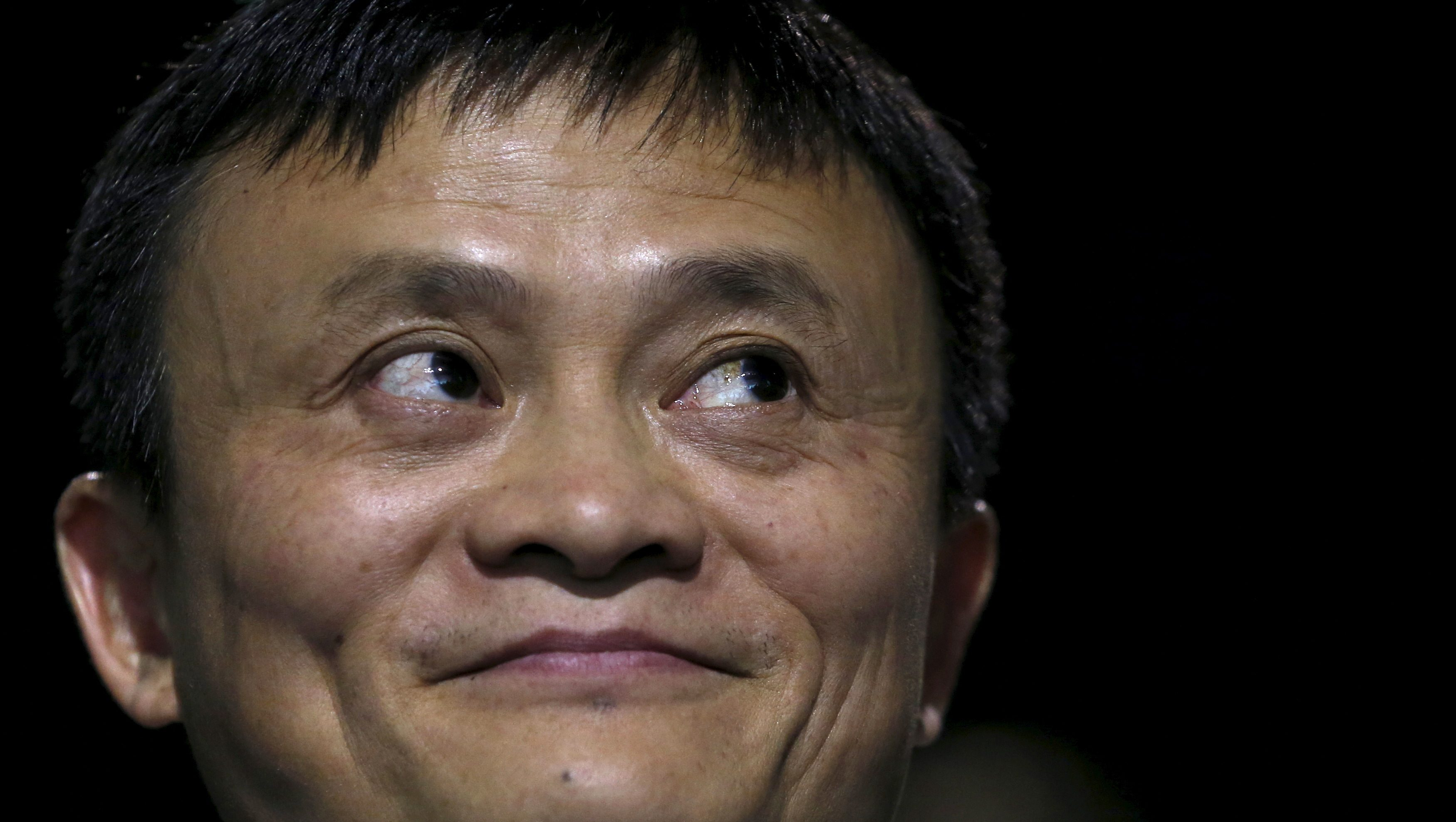 Alibaba Executive Chairman Jack Ma attends the World Climate Change Conference 2015 (COP21) at Le Bourget, near Paris, France, December 5, 2015.