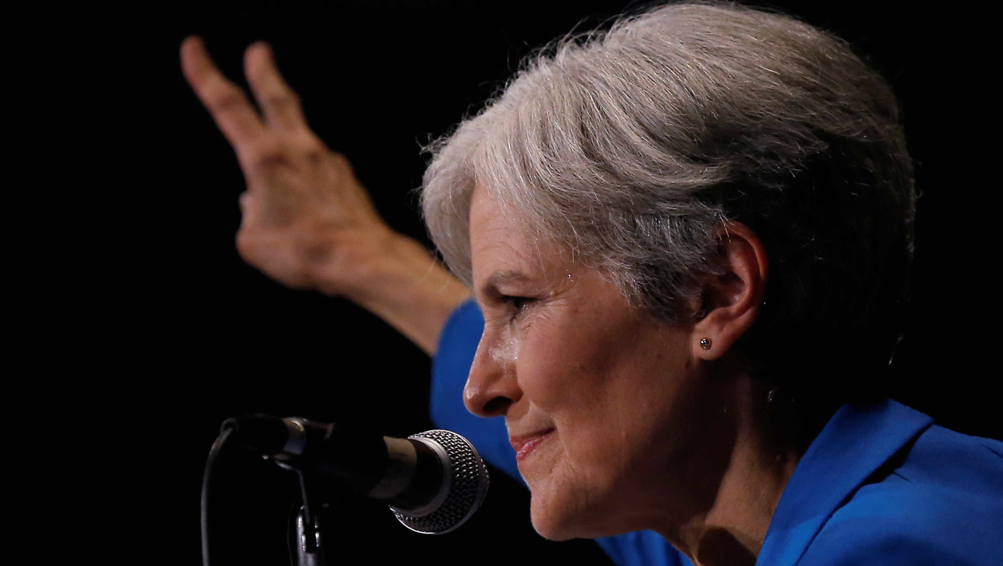 Green Party presidential candidate Jill Stein attends a campaign rally in Chicago, Illinois, U.S. September 8, 2016.