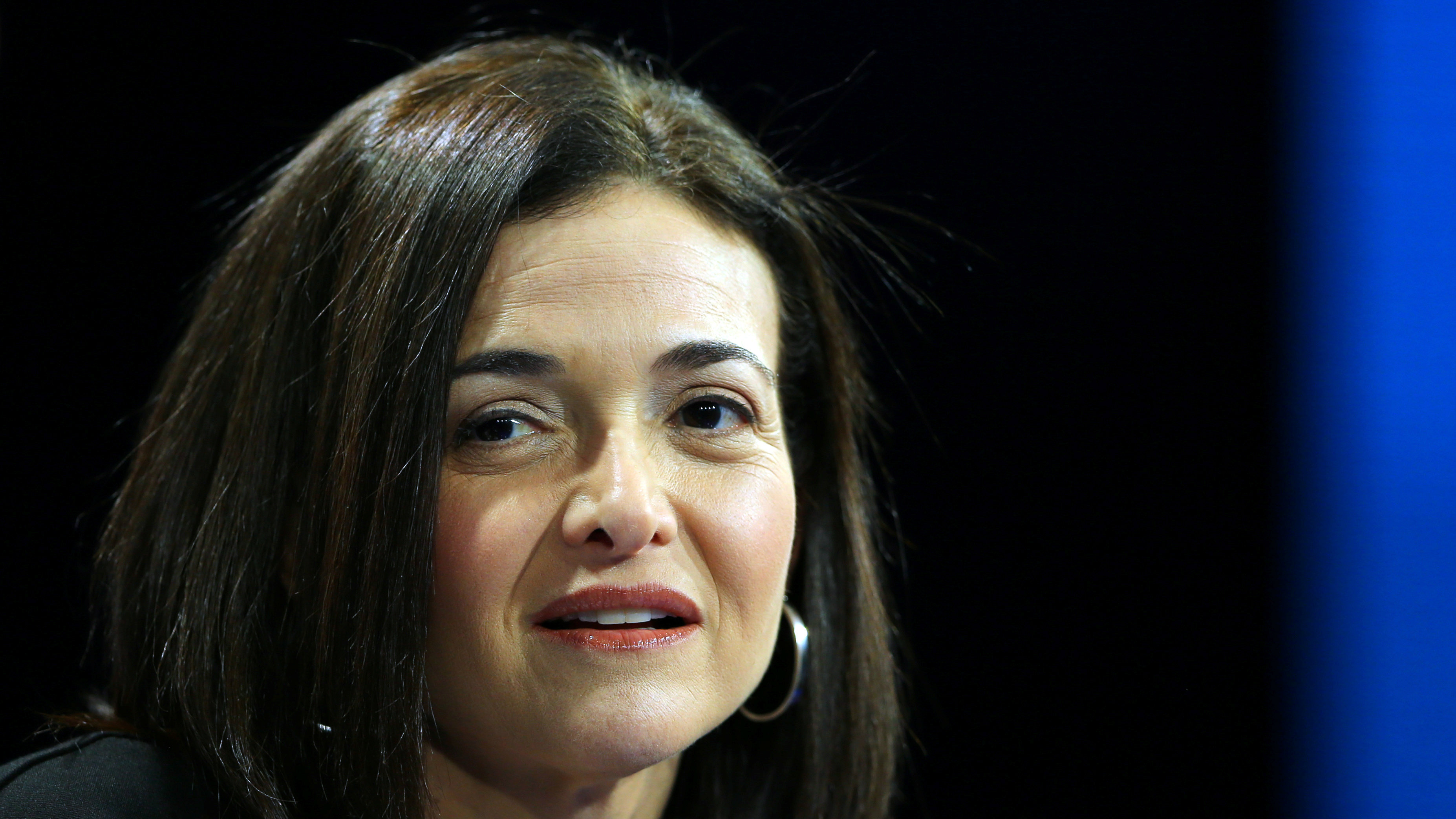 Sheryl Sandberg, Chief Operating Officer of Facebook speaks at the WSJD Live conference in Laguna