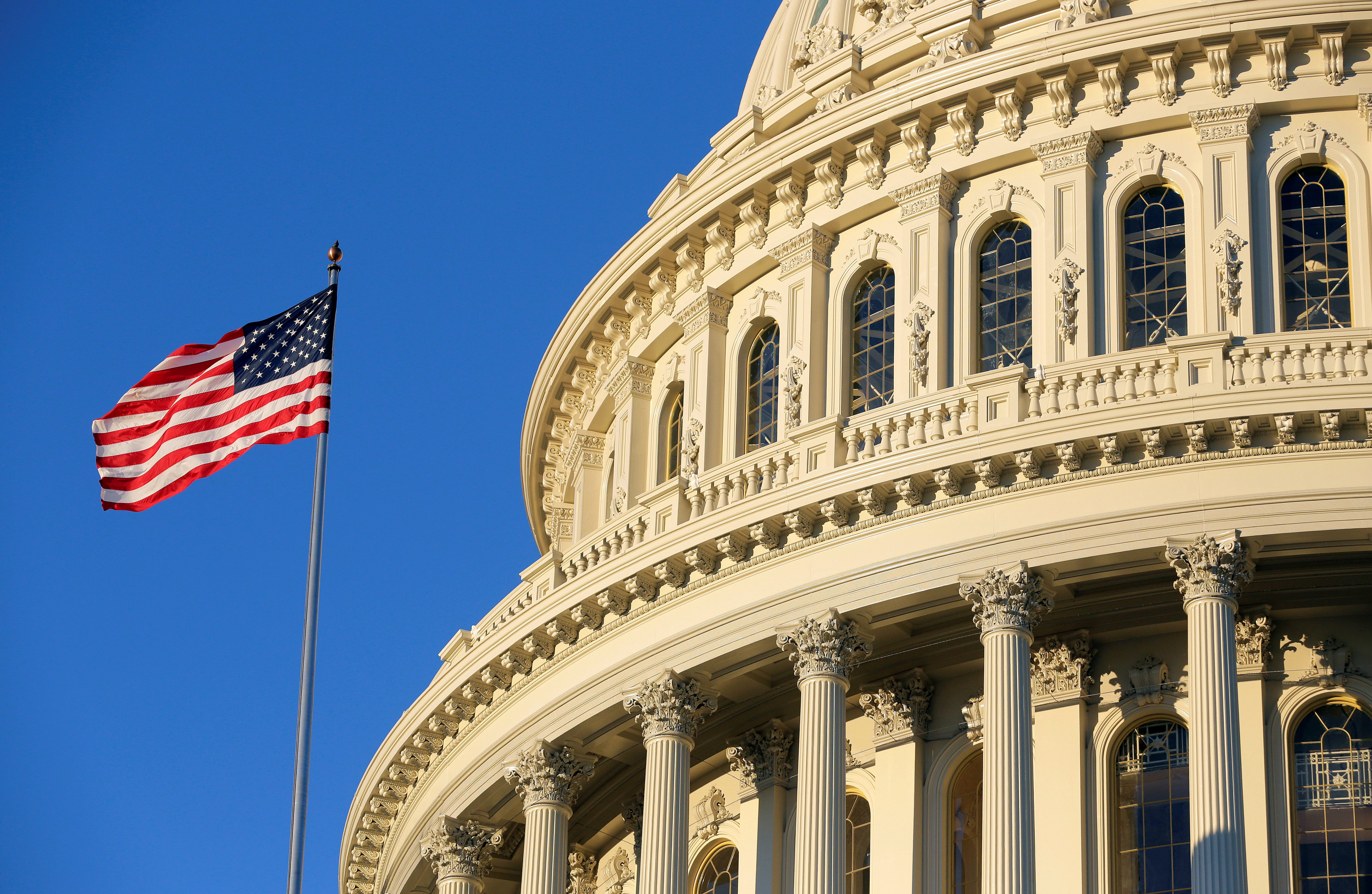 The U.S. Capitol stands in Washington, U.S., November 7, 2016.