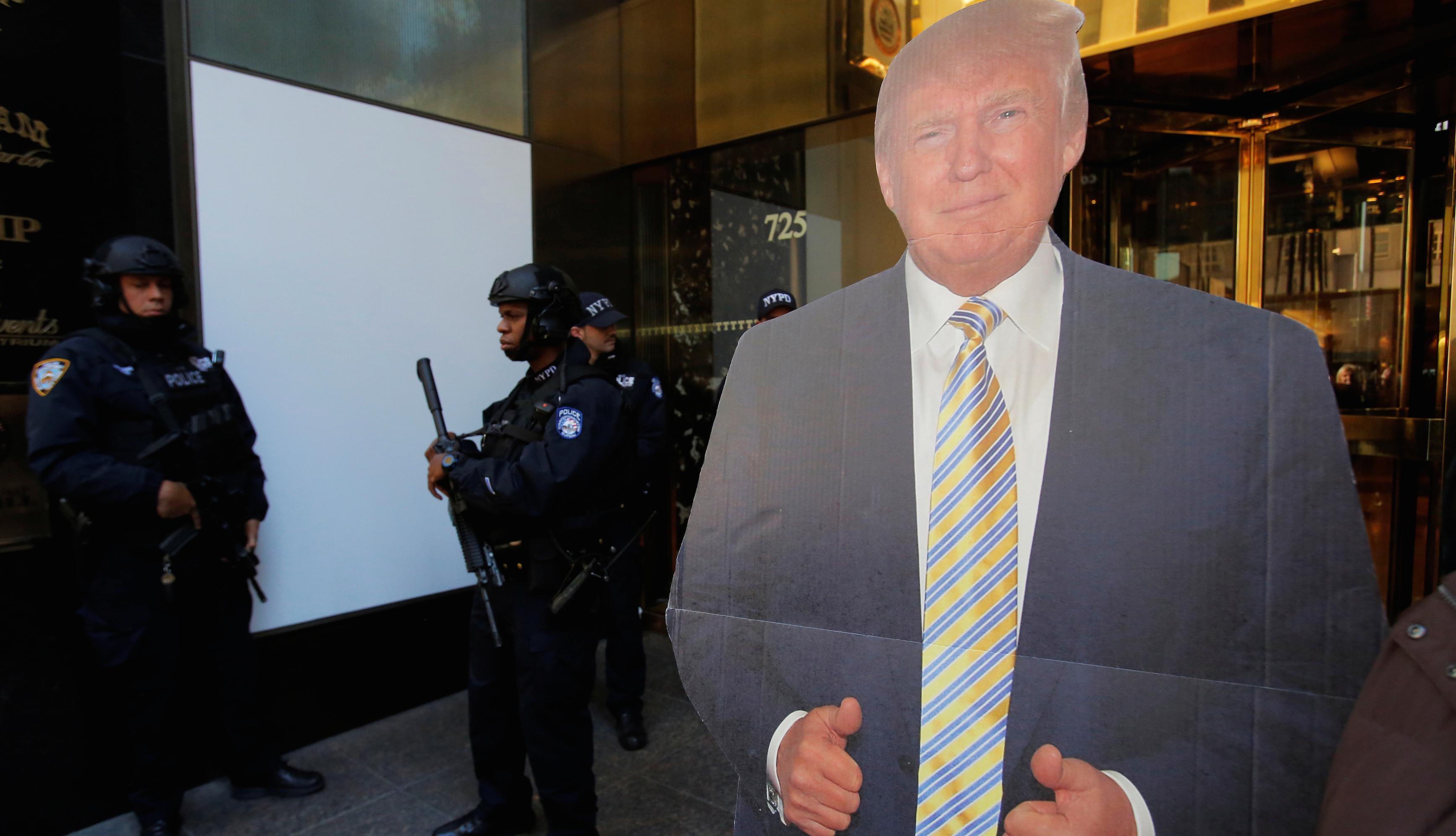 Donald Trump security Trump Tower