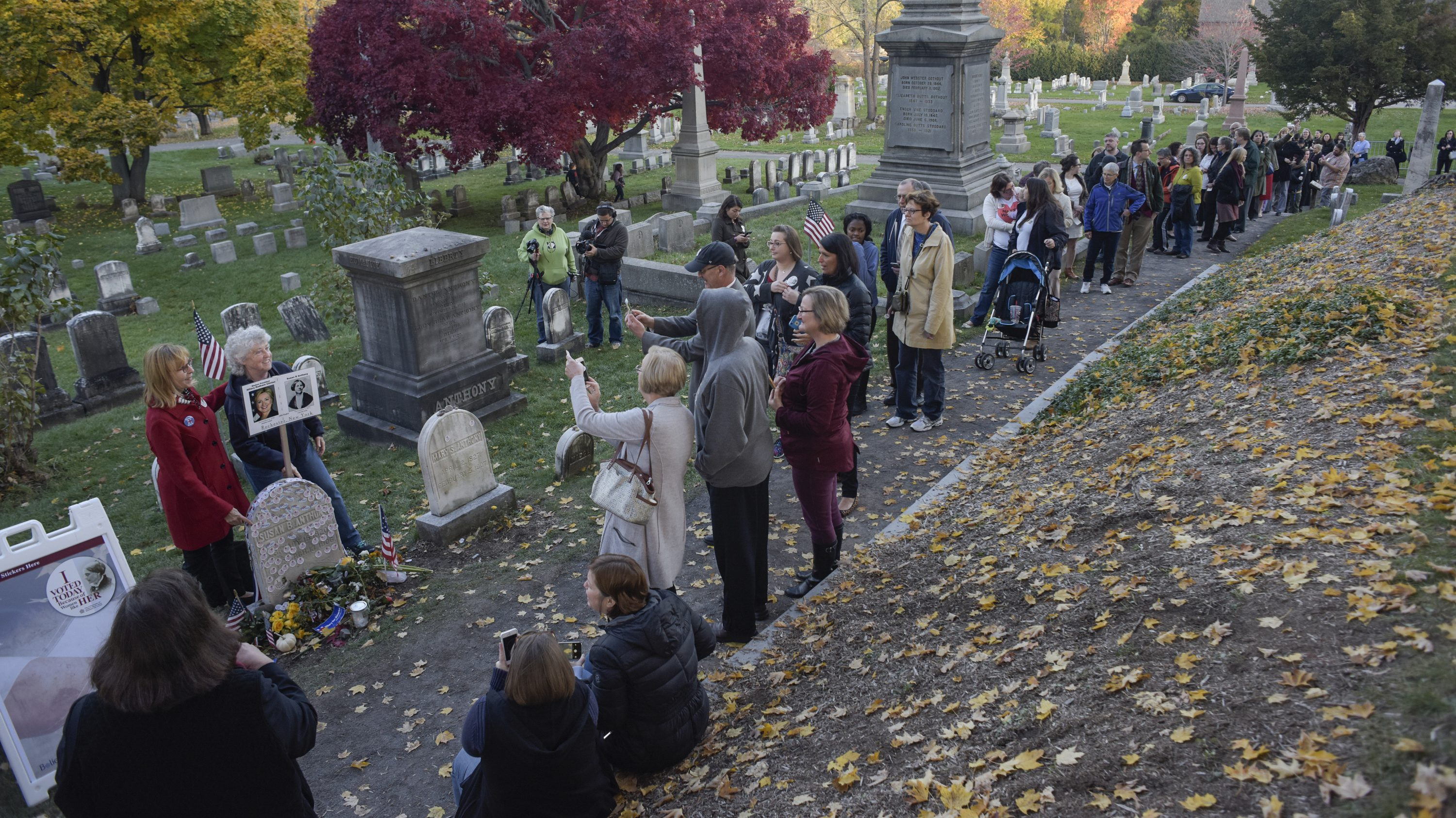 Women Are Covering Susan B. Anthonys Grave With I Voted Stickers recommendations