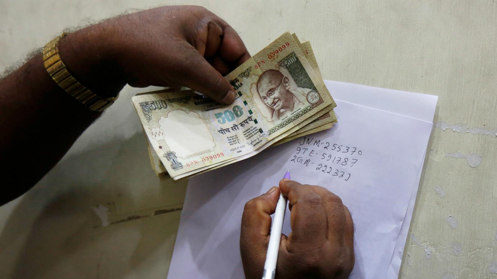 India Rupee Demonetisation