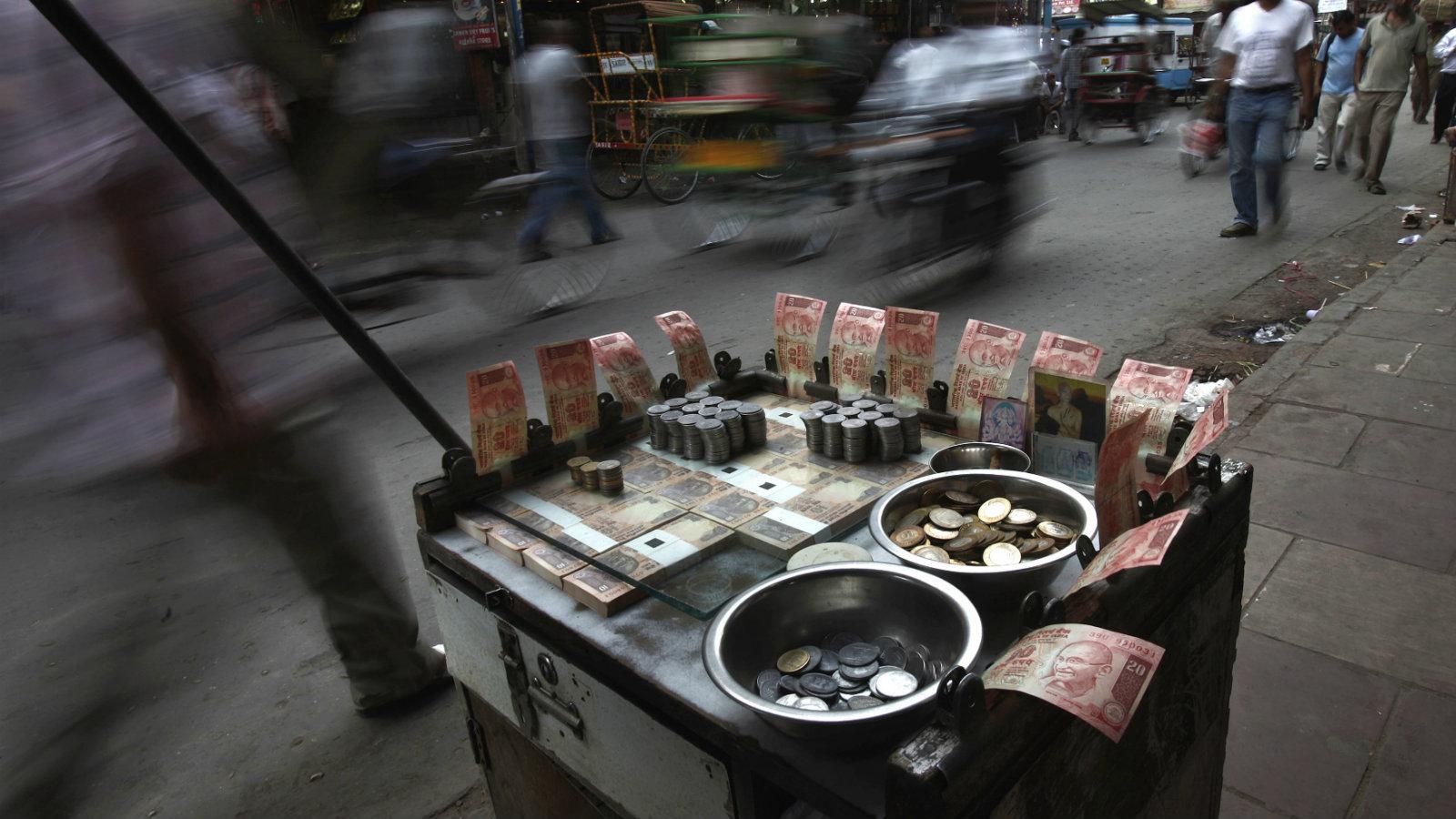 India-Economy-Currency-Rupee