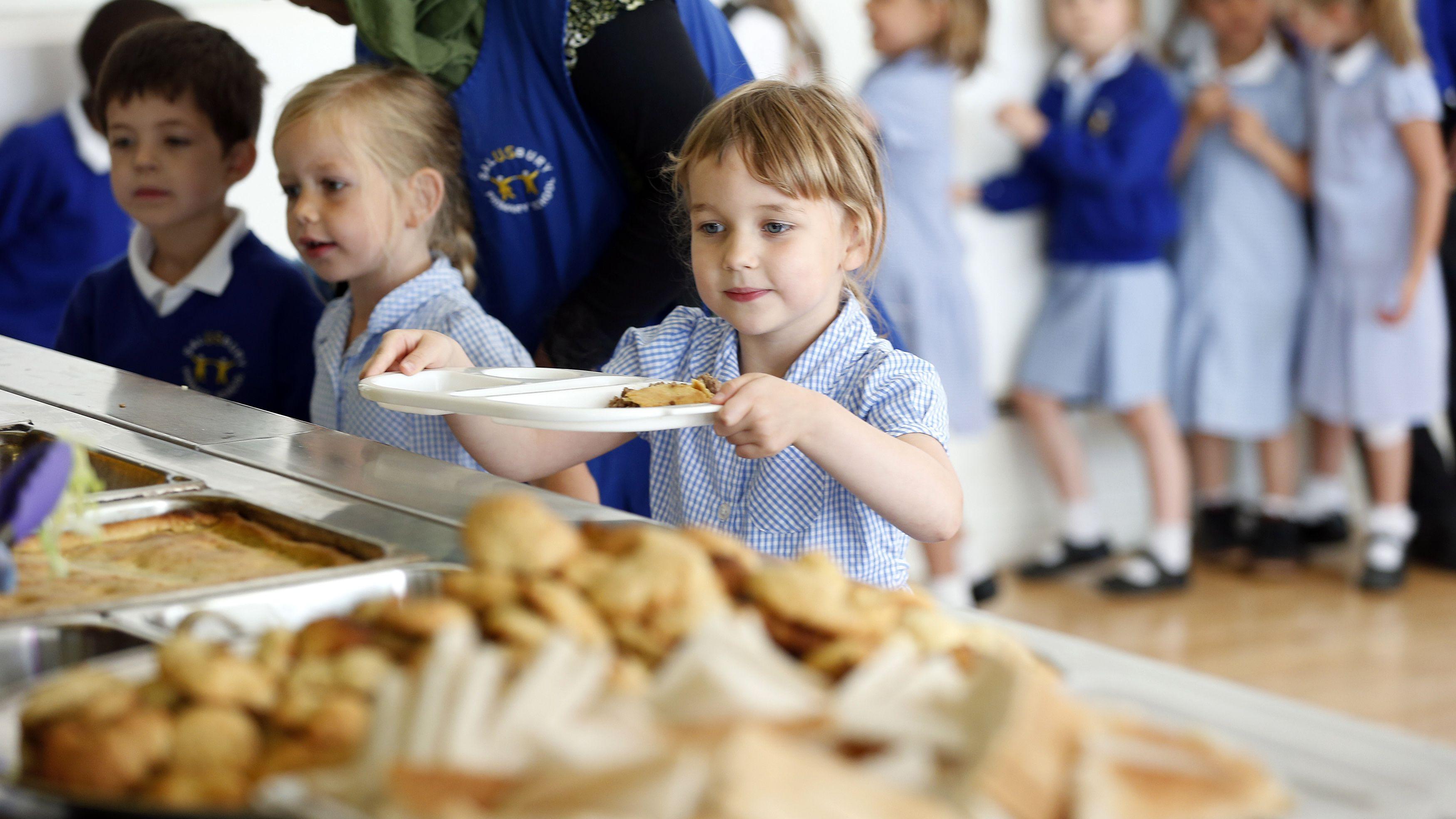 School lunch child