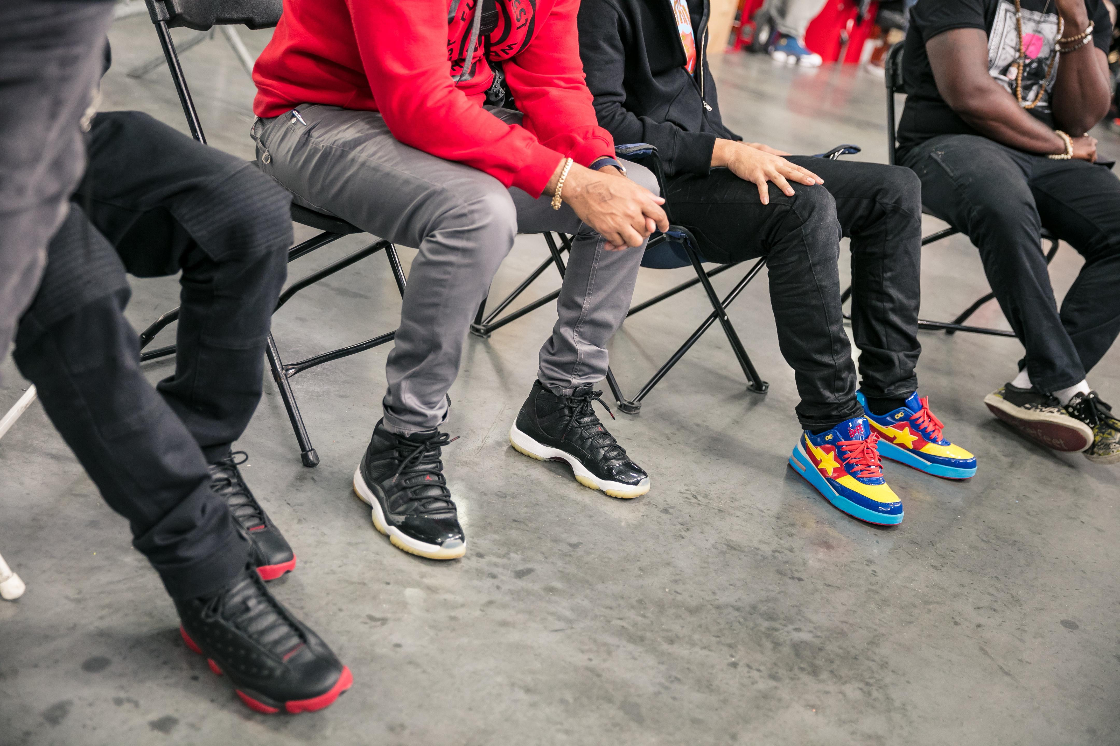SneakerCon attendees