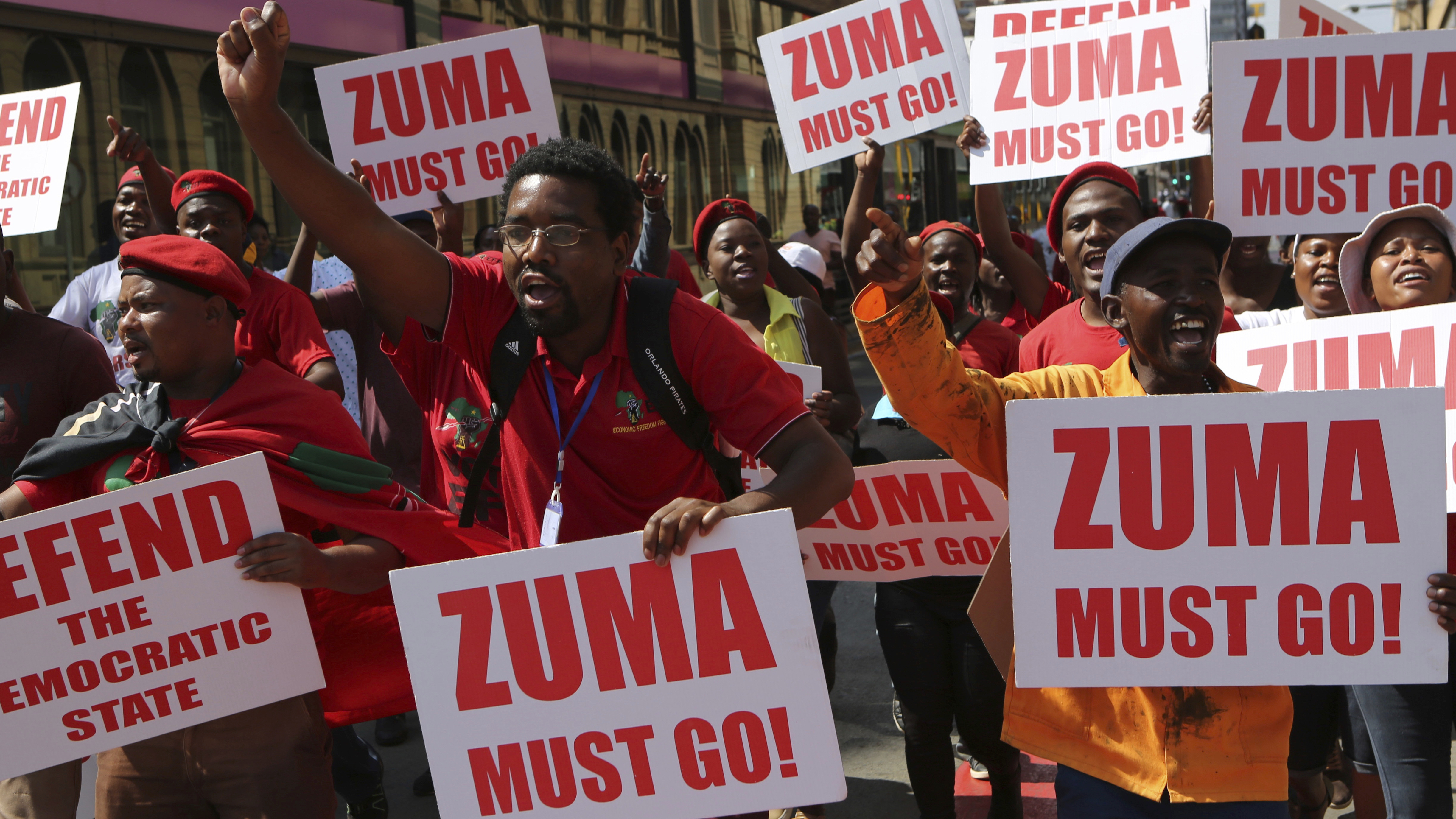Following the release of the State Capture report and public protests, pressure mounts for South Africa's President Jacob Zuma to step down