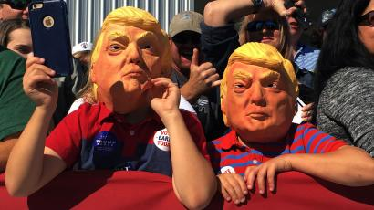 Donald Trump mask kids