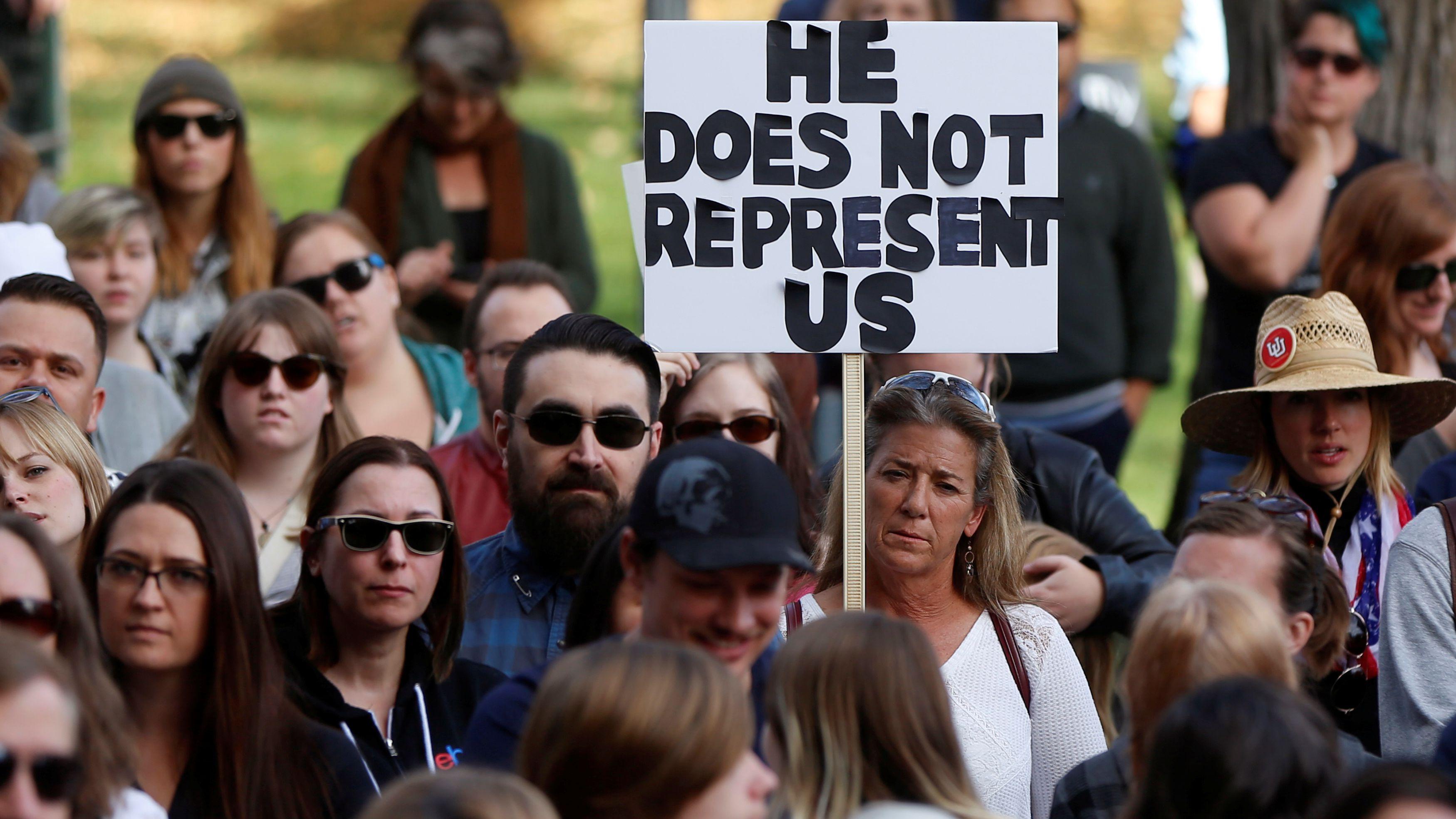 Donald Trump protestors